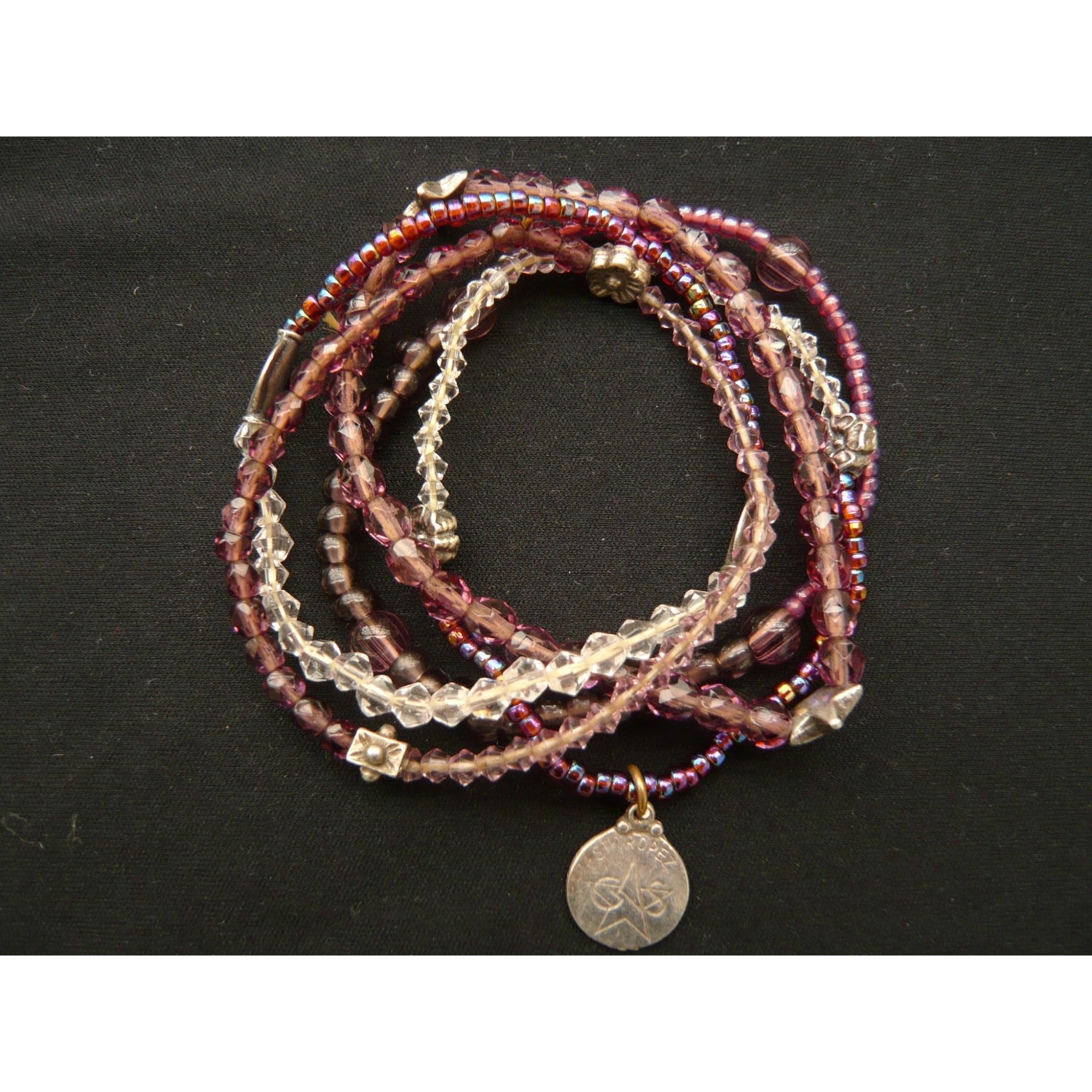 Bracelet GAS Violet, mauve, lavande