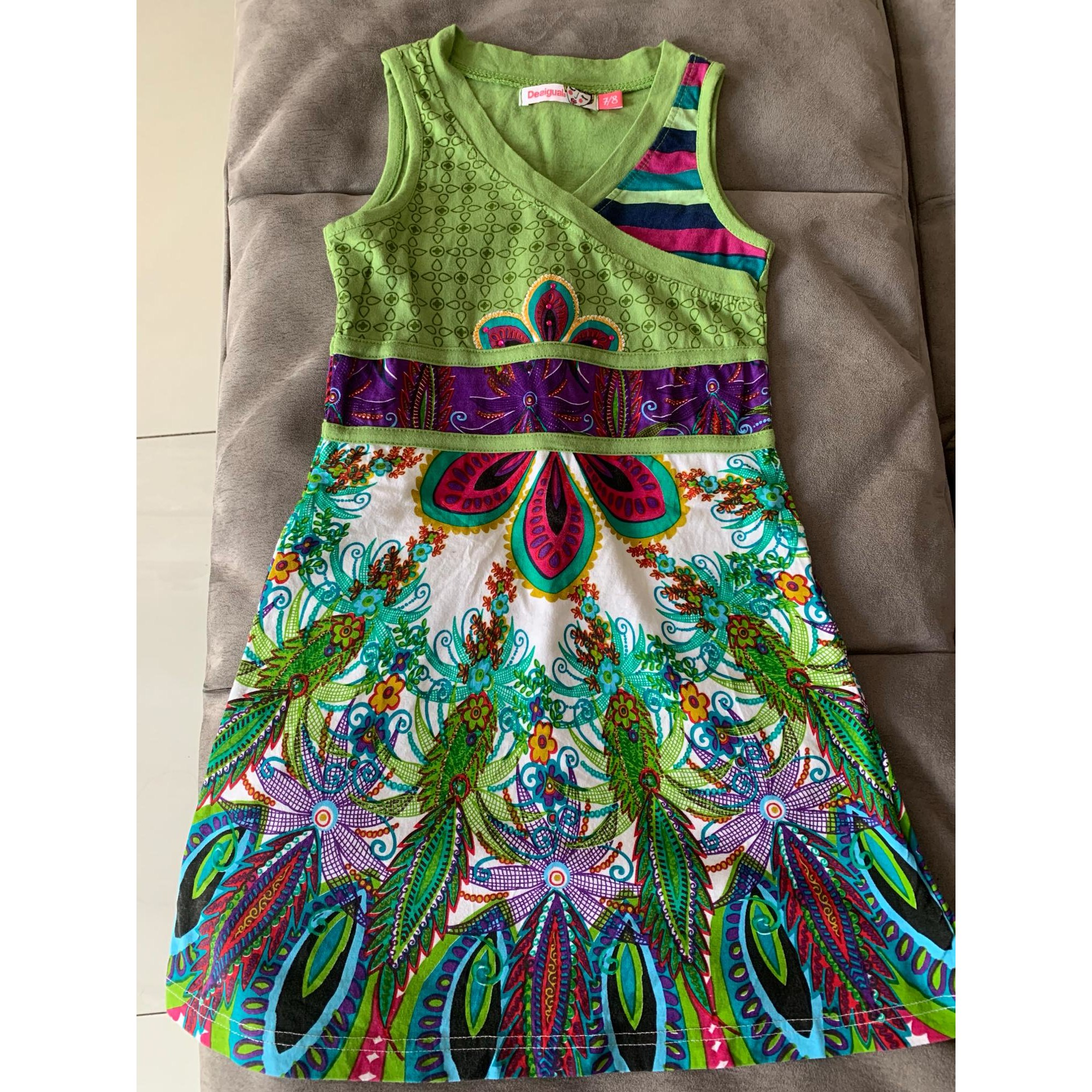 Robe DESIGUAL Vert