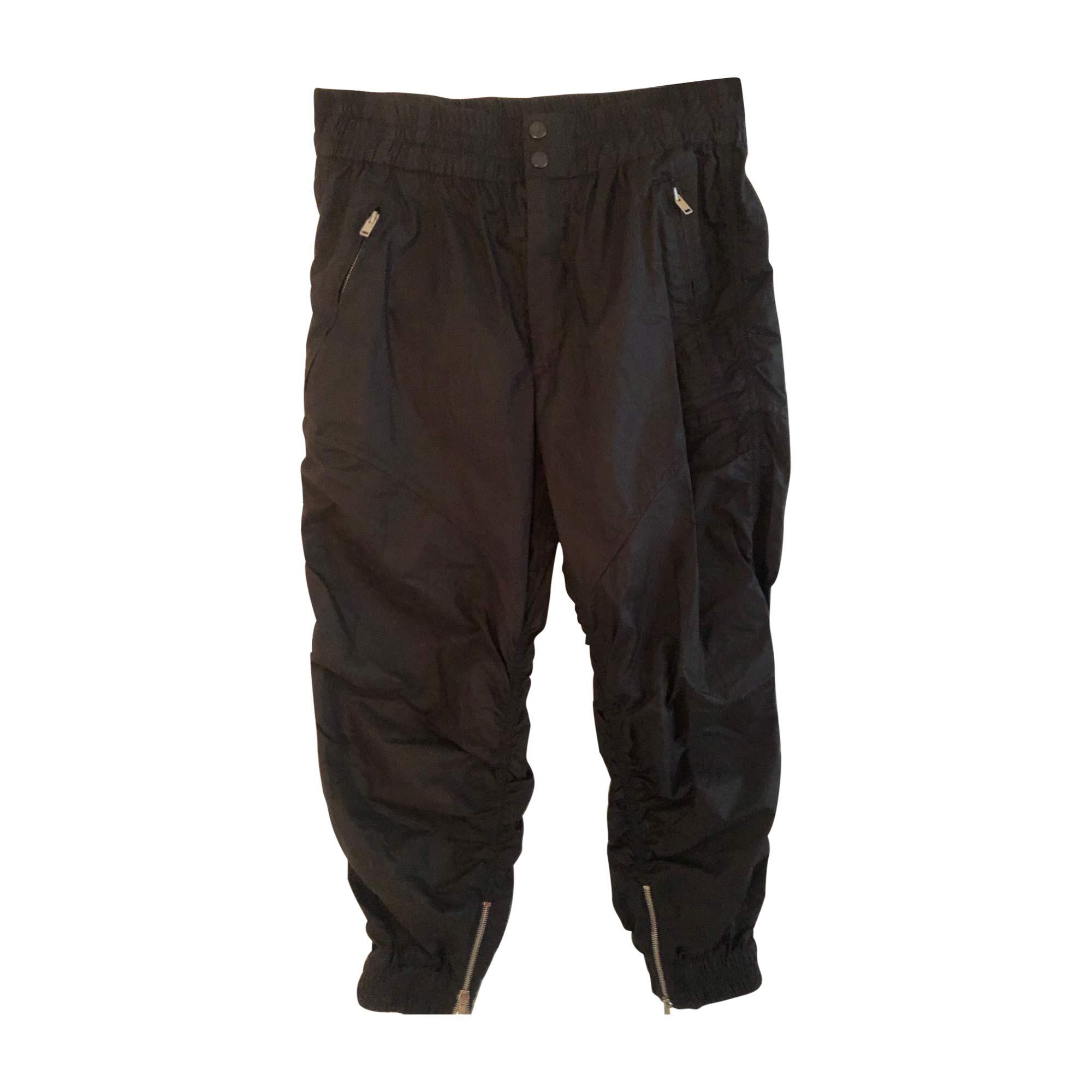 Pantalon large ISABEL MARANT Noir