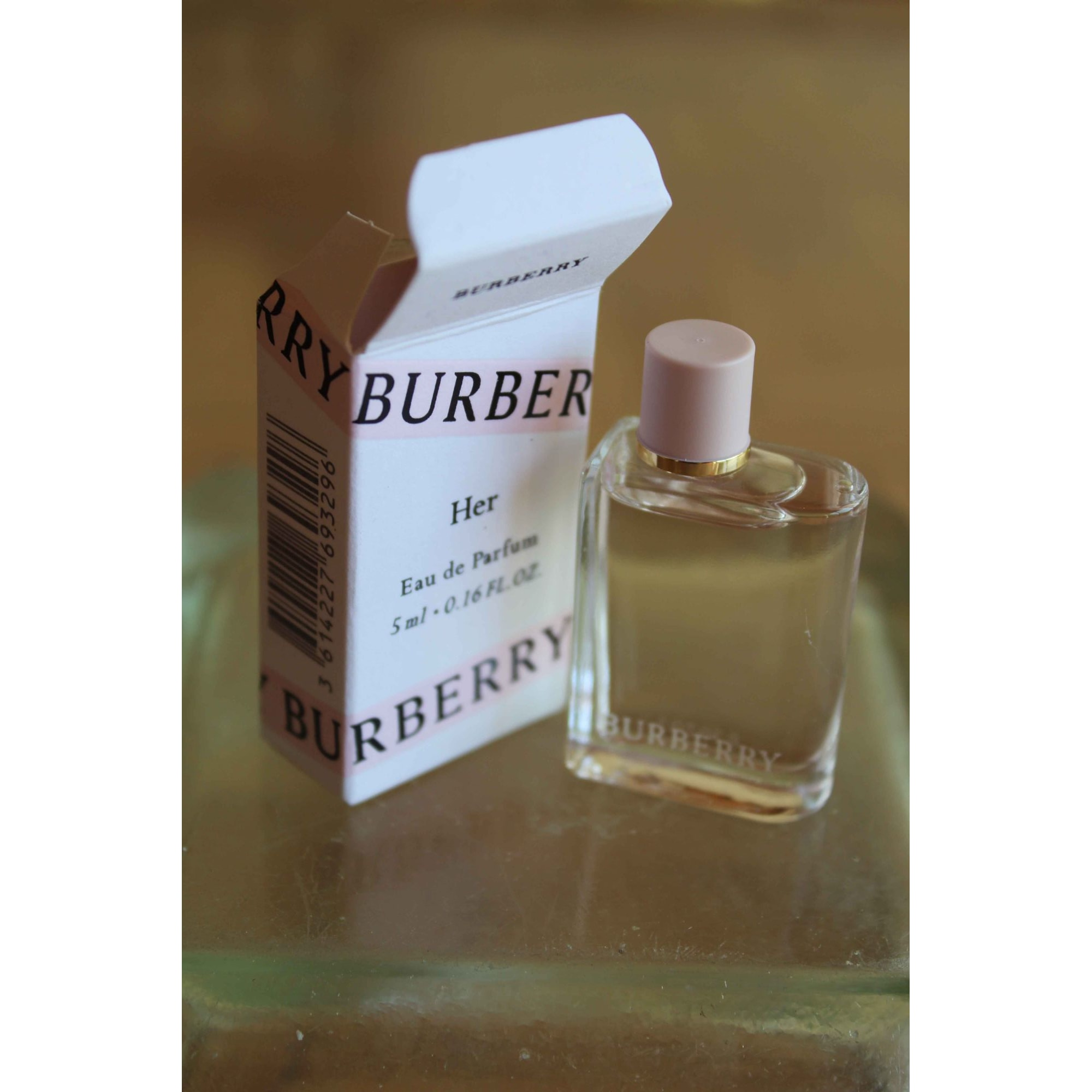 Miniature parfum BURBERRY