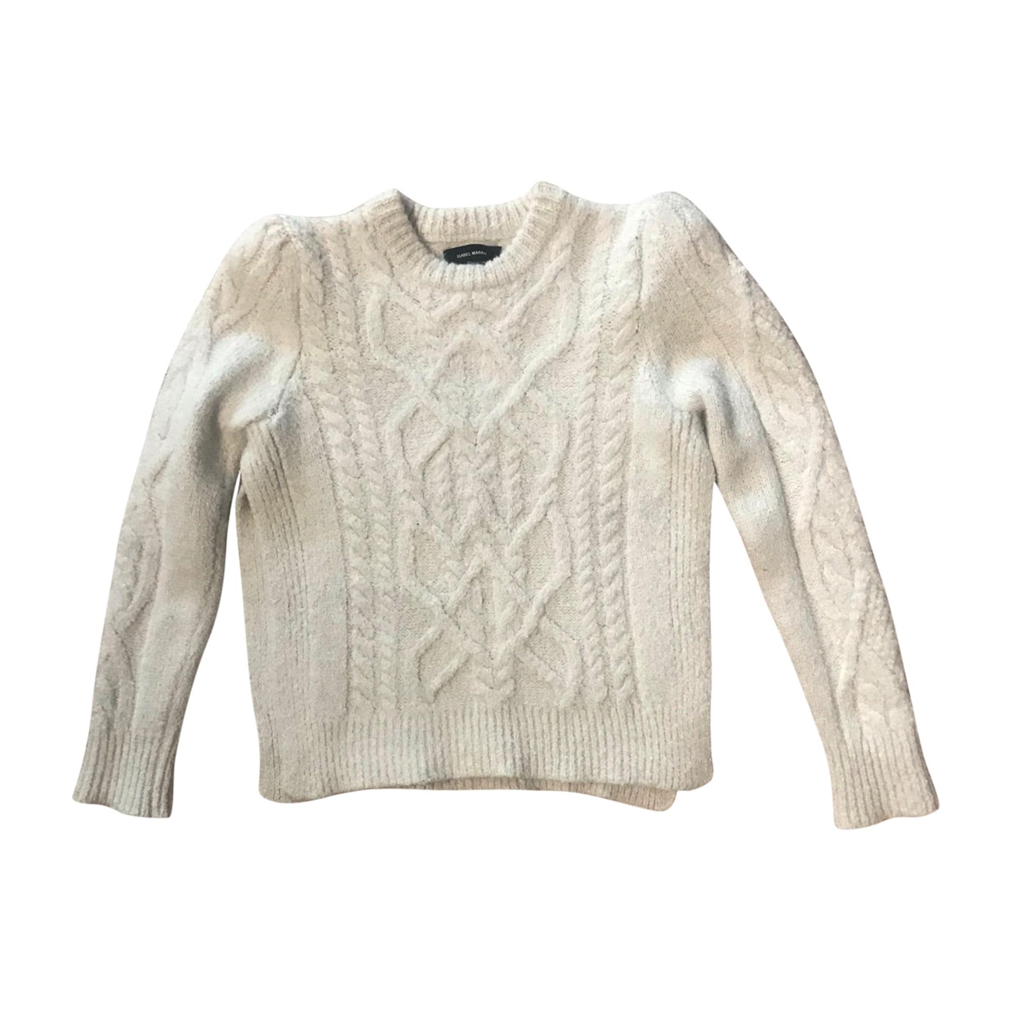 Sweater ISABEL MARANT White, off-white, ecru