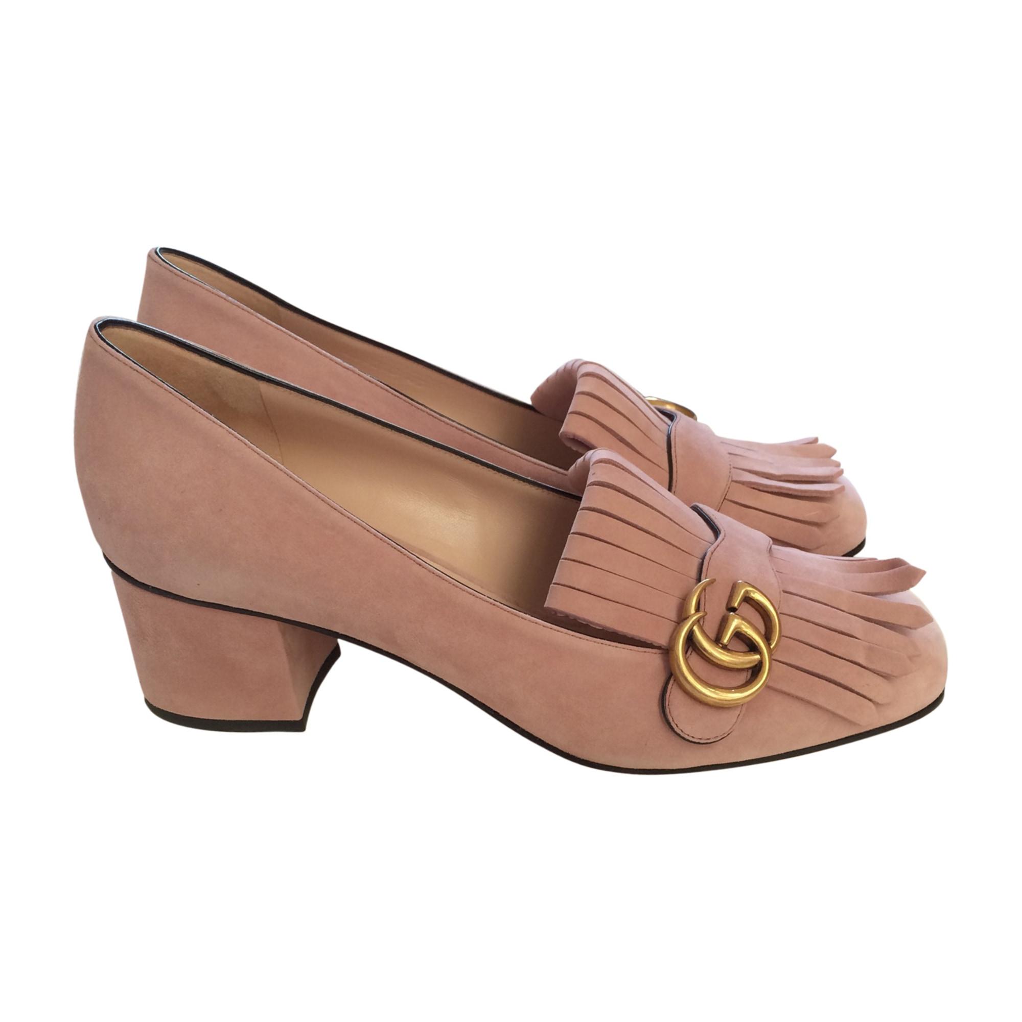 Pumps, Heels GUCCI Pink, fuchsia, light pink