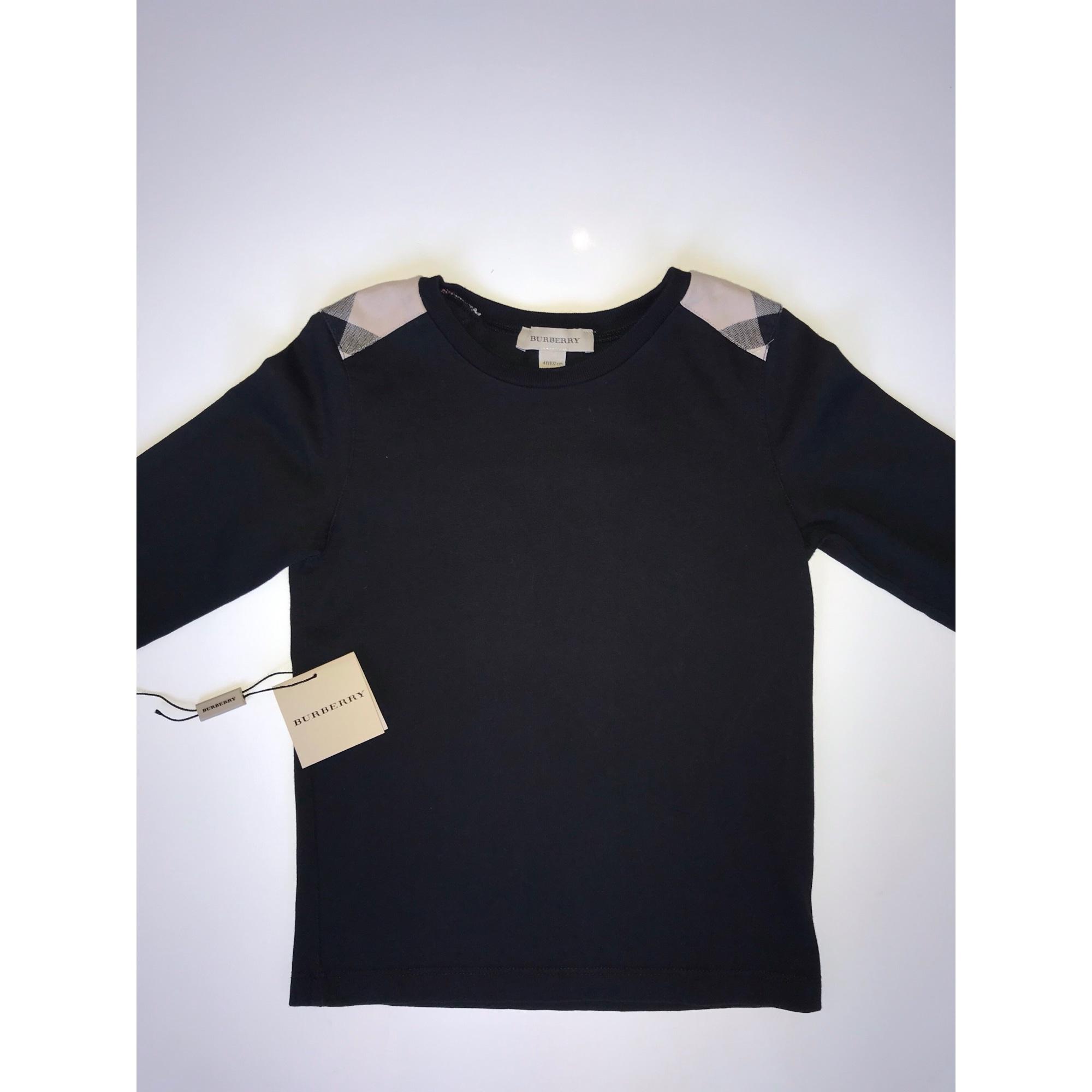 T-shirt BURBERRY Black