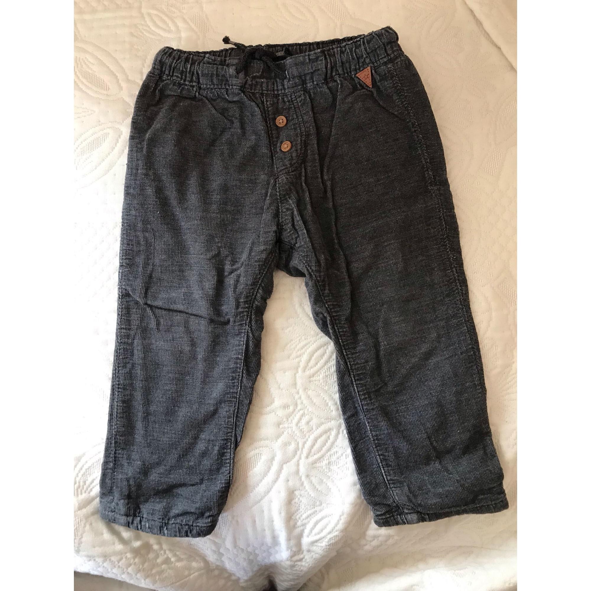 Pantalon H&M Gris, anthracite