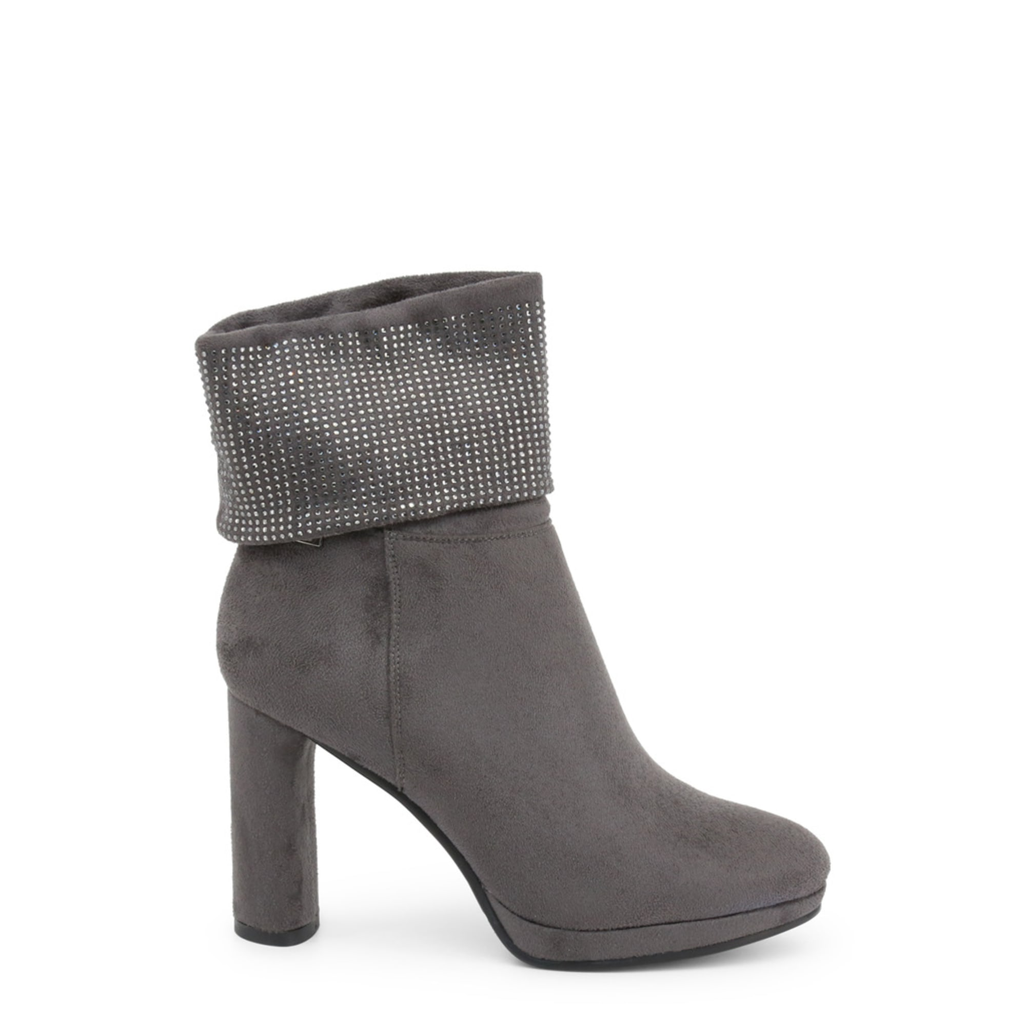 Bottines & low boots à talons LAURA BIAGIOTTI Gris, anthracite