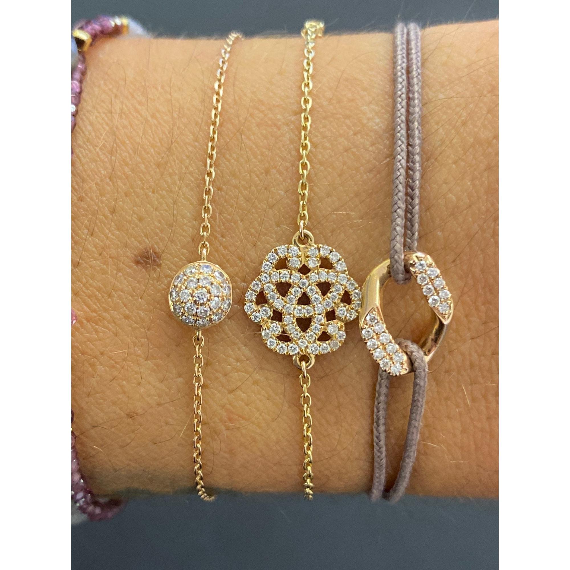 Bracelet OFÉE or rose rose