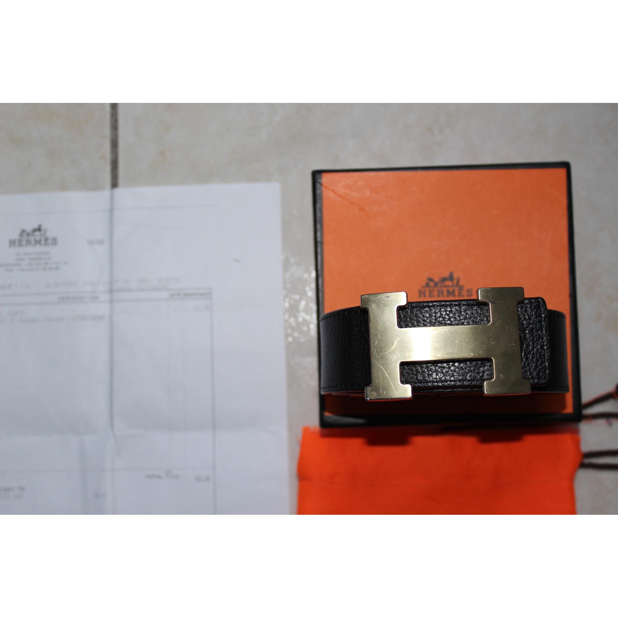 4217f8e61143 Ceinture HERMÈS 120 noir - 953306