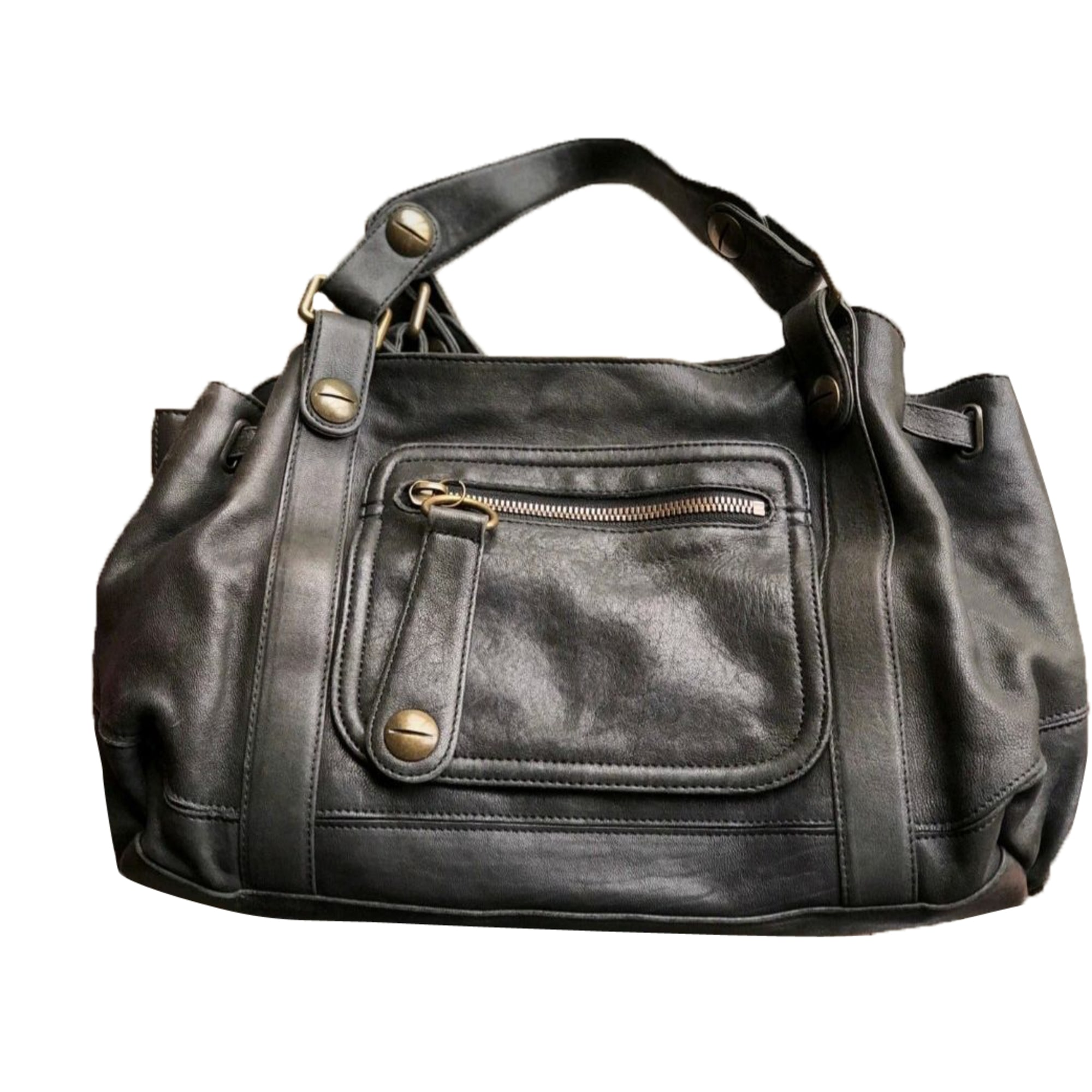 Leather Handbag GERARD DAREL Black