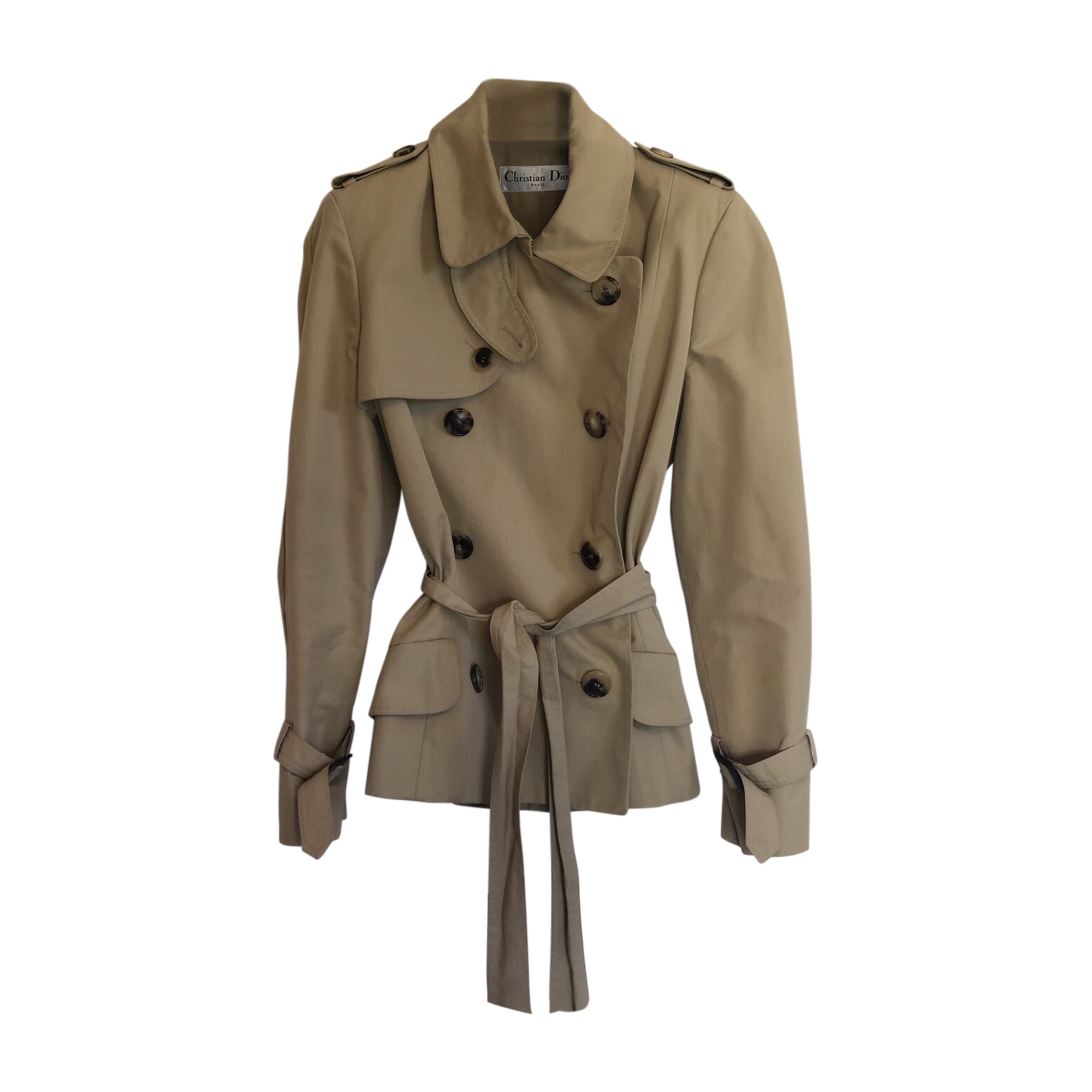 Imperméable, trench DIOR Beige, camel