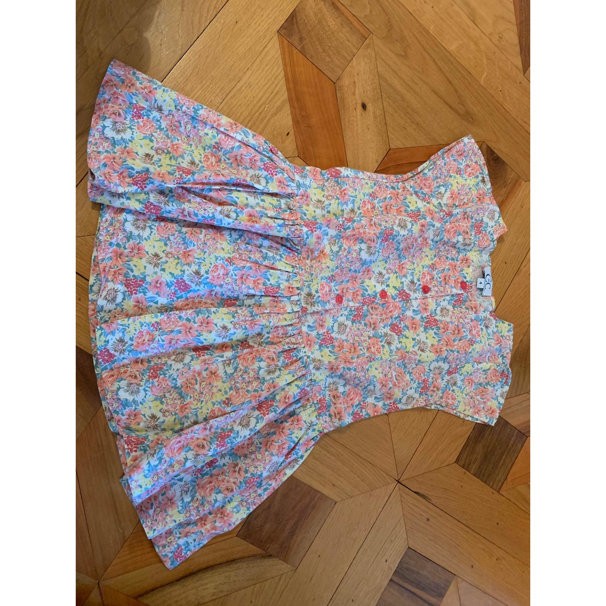 Robe C DE C BY CORDELIA DE CASTELLANE coton multicolore 3-4 ans