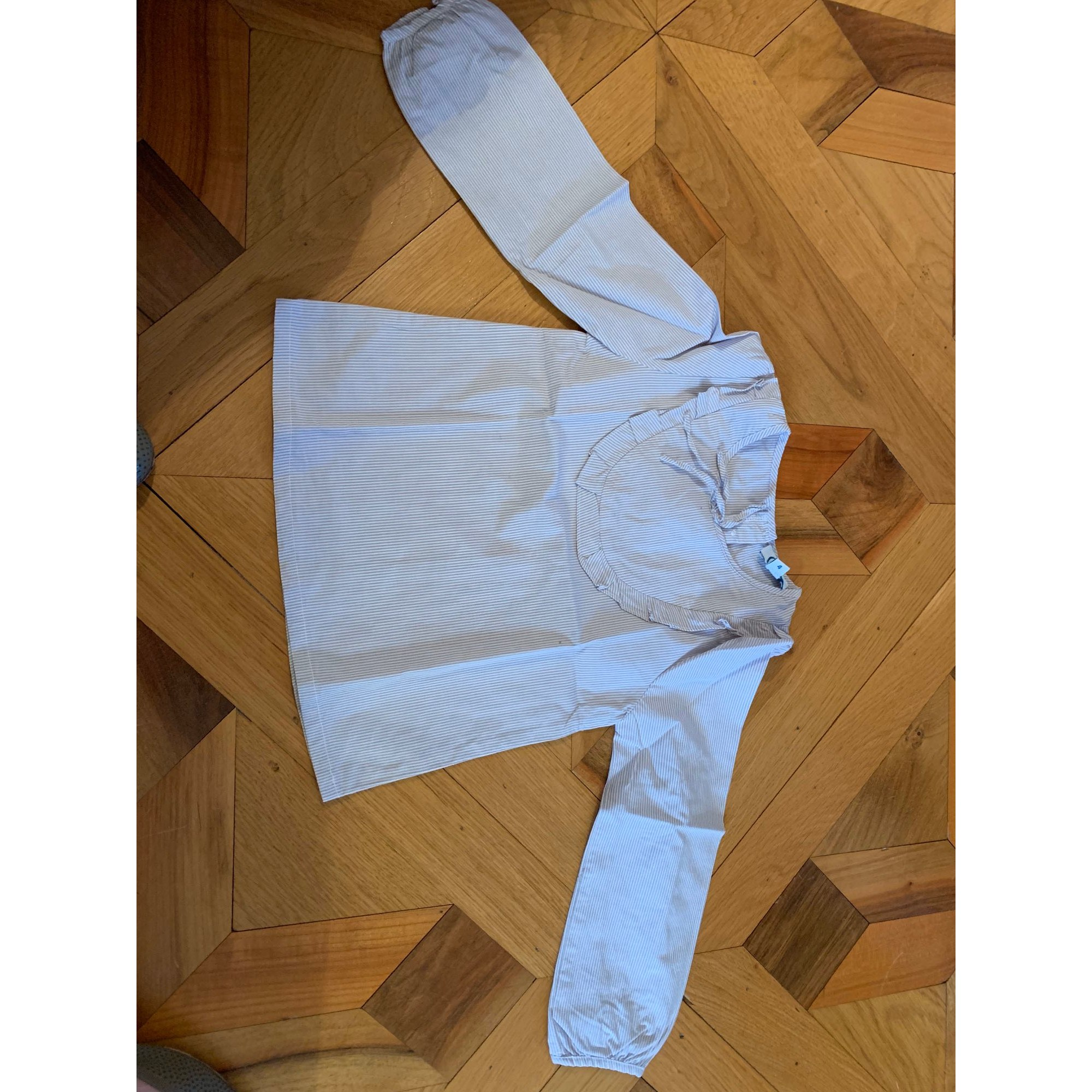 Blouse C DE C BY CORDELIA DE CASTELLANE coton gris 3-4 ans