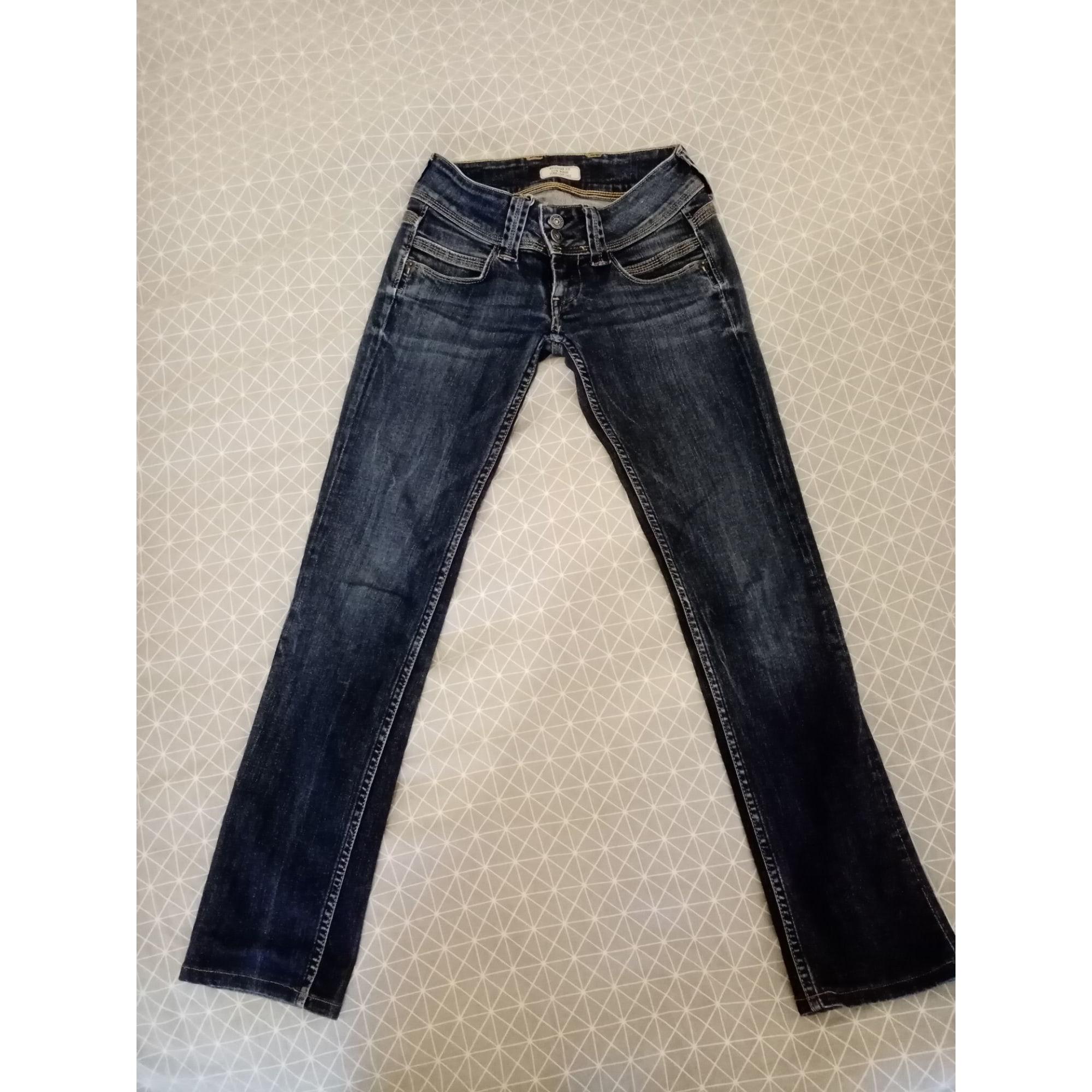 Straight-Cut Jeans  PEPE JEANS Blau, marineblau, türkisblau