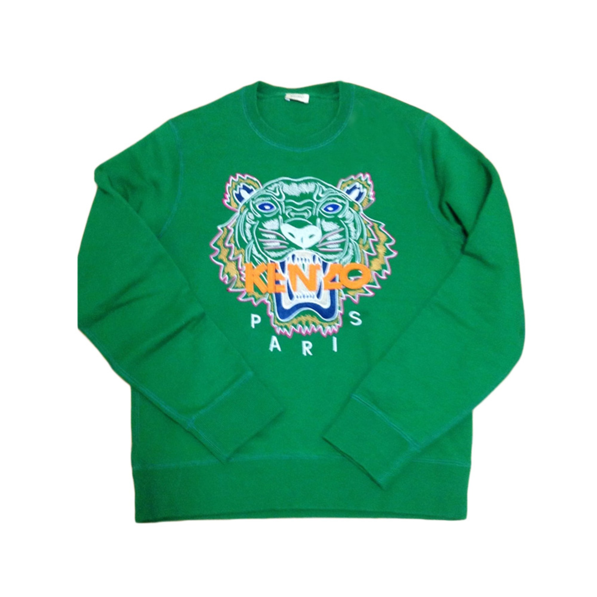 2dabb682fabf Sweat KENZO 38 (M, T2) vert vendu par Topdressing - 964416