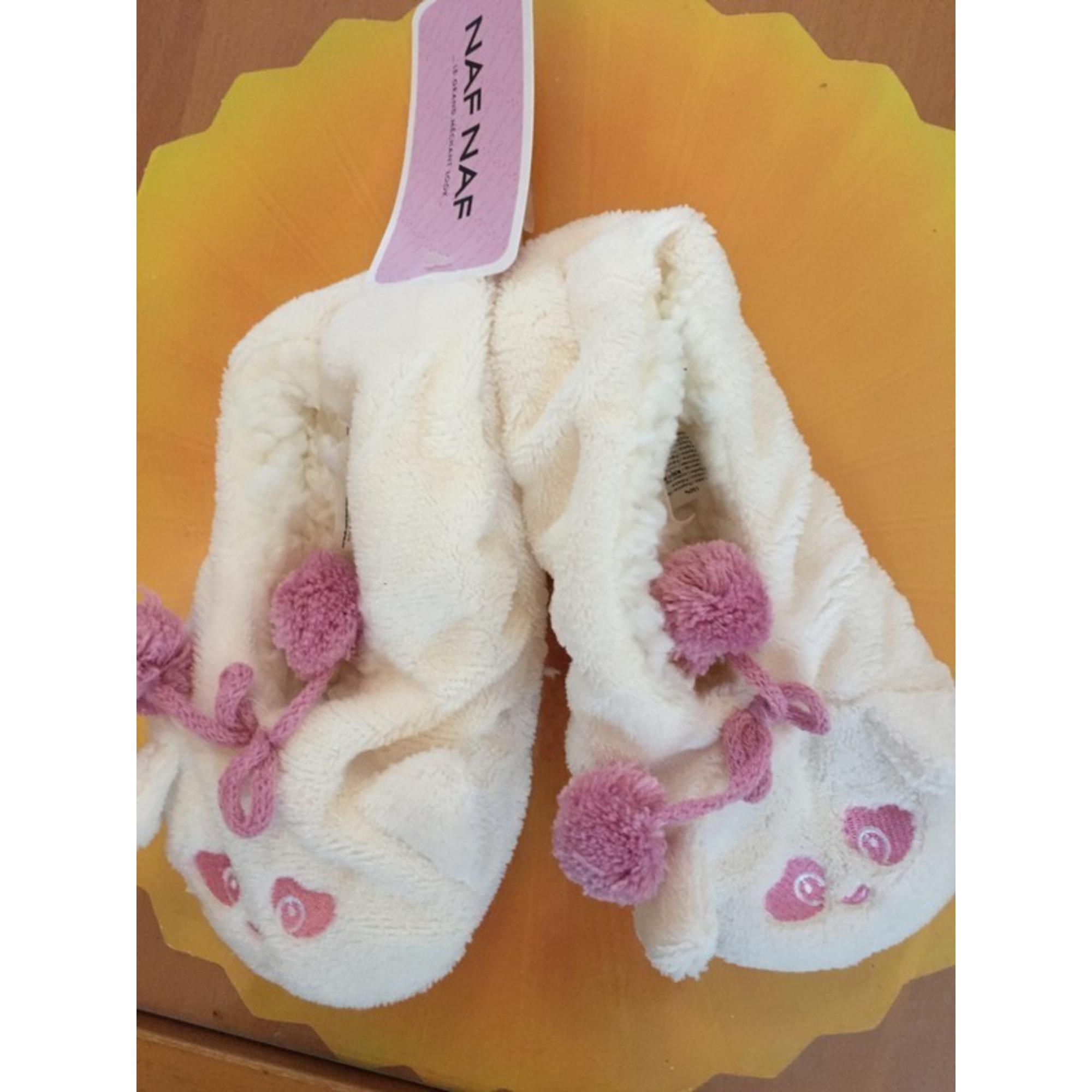 Slippers NAF NAF White, off-white, ecru