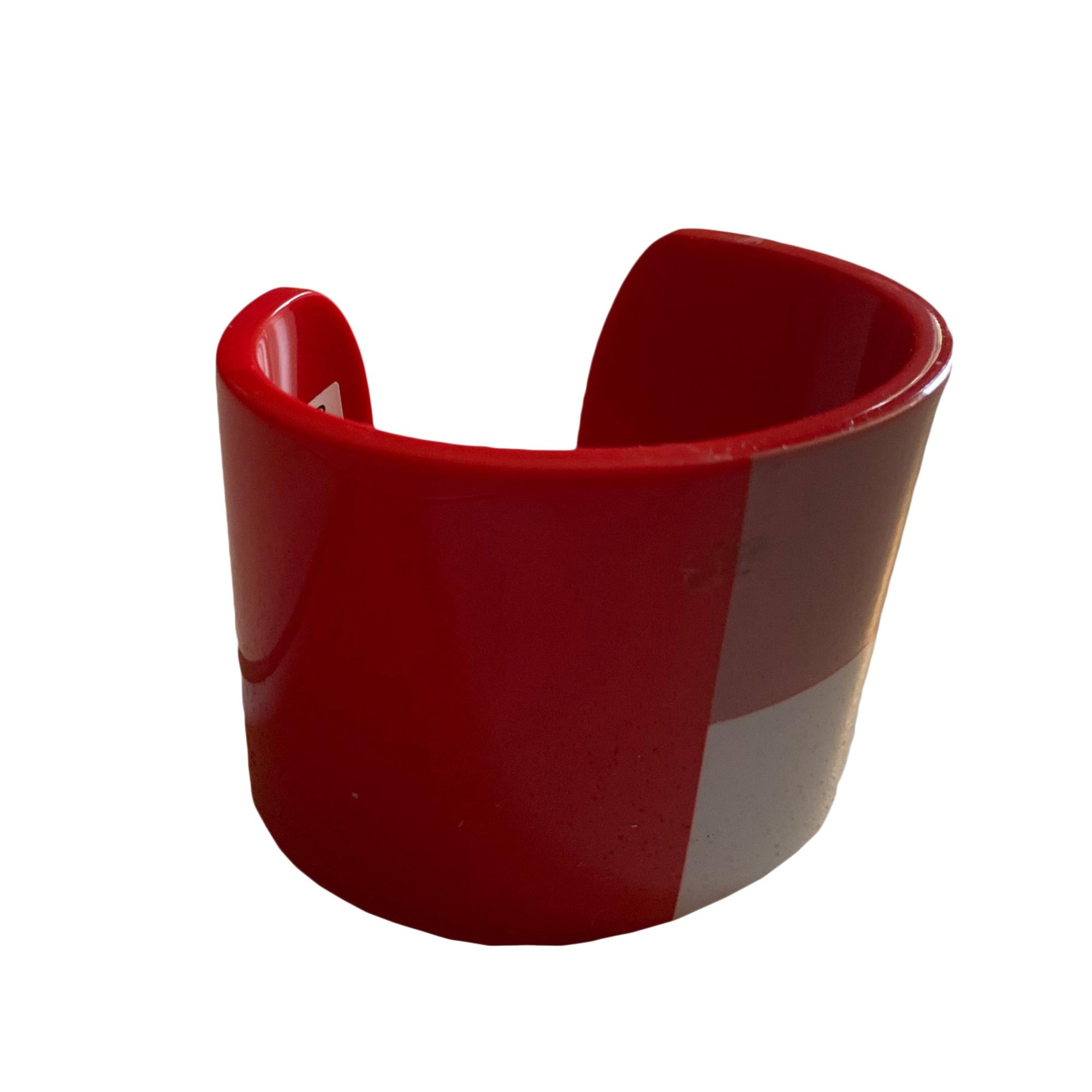 Bracelet LACOSTE chrome rouge