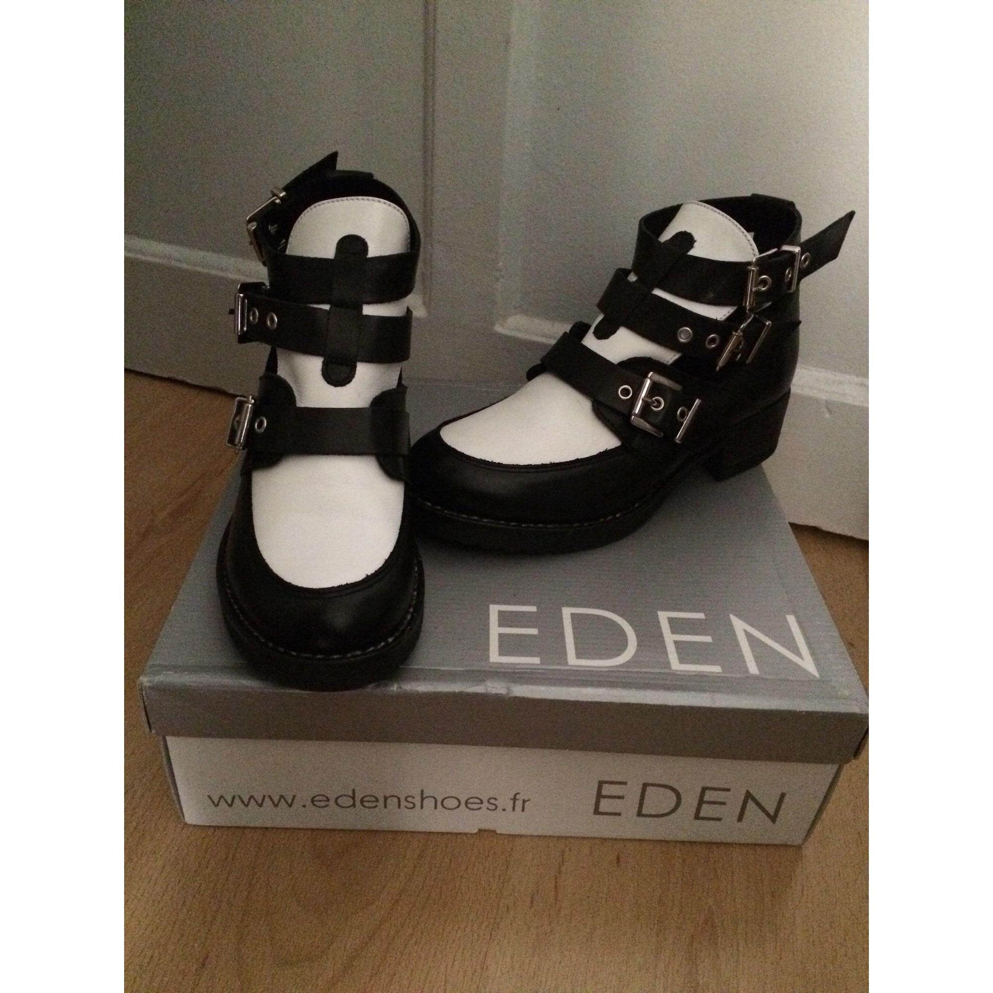 Bottines & low boots à talons EDEN Multicouleur