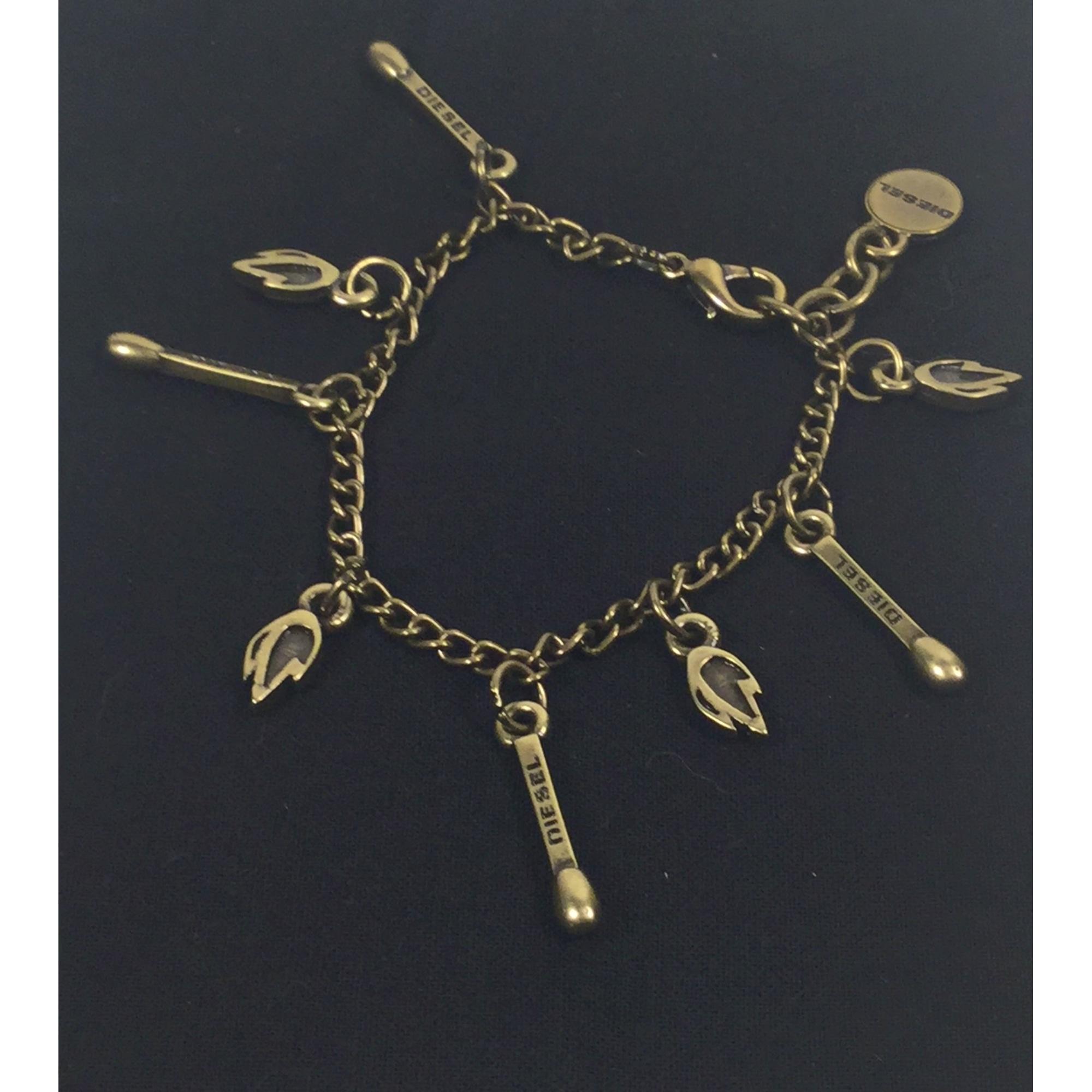 Bracelet DIESEL Doré, bronze, cuivre