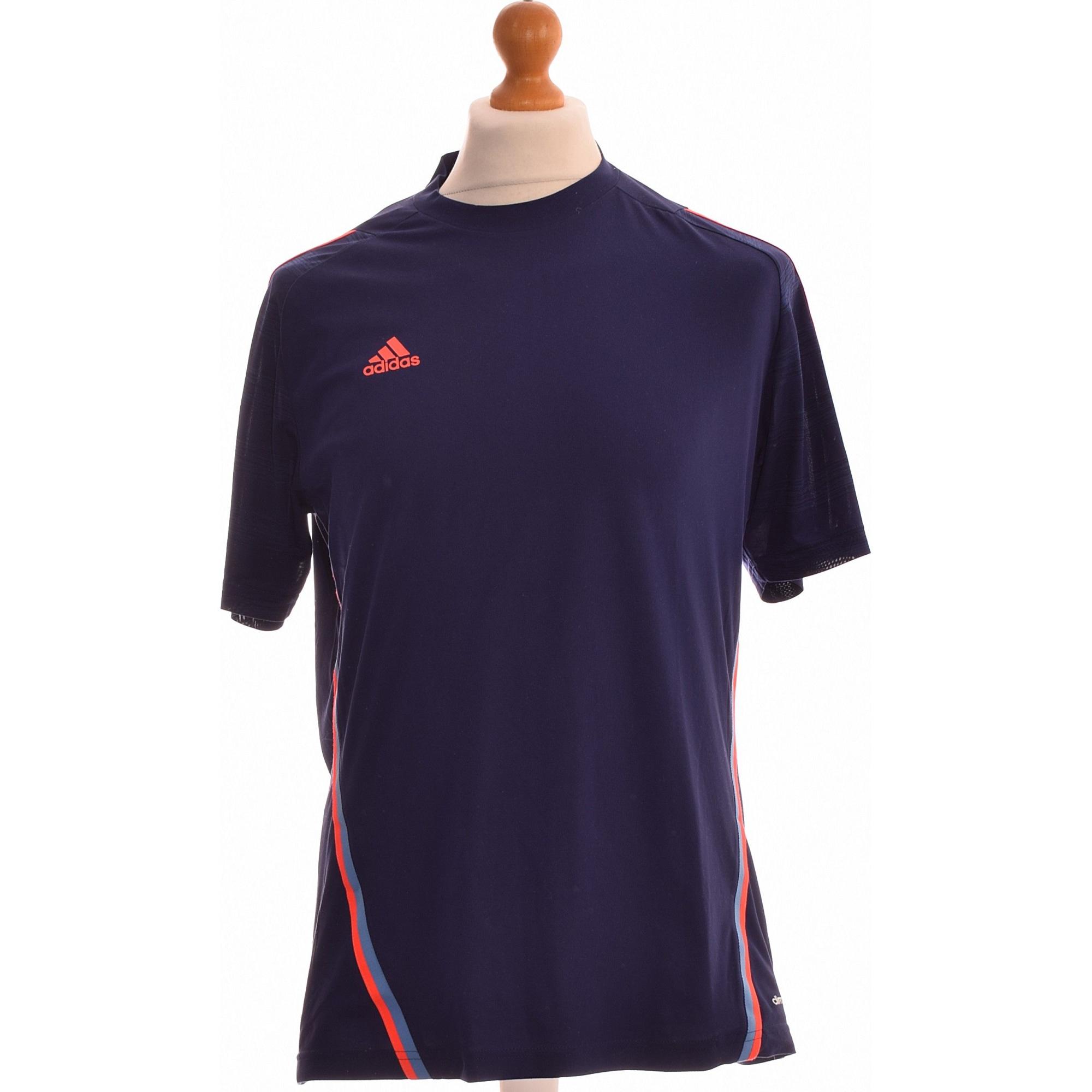 Tee-shirt ADIDAS Bleu, bleu marine, bleu turquoise