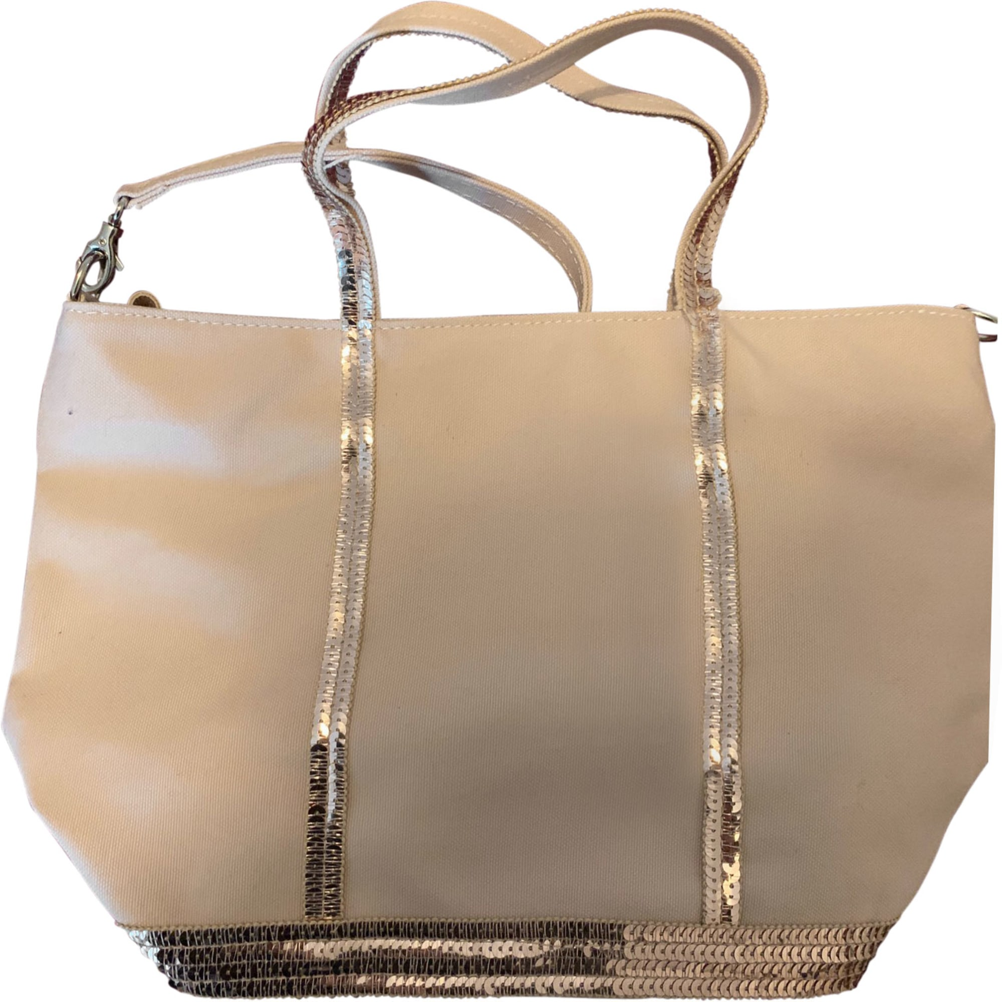 Non-Leather Shoulder Bag VANESSA BRUNO Beige, camel