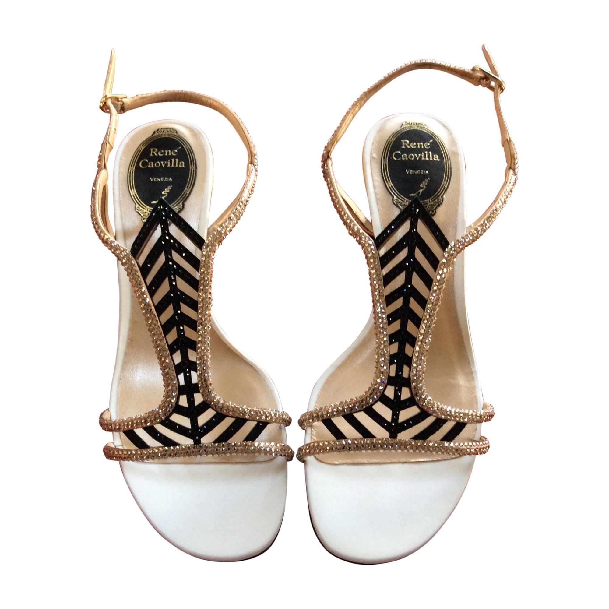 Sandales à talons RENÉ CAOVILLA Noir