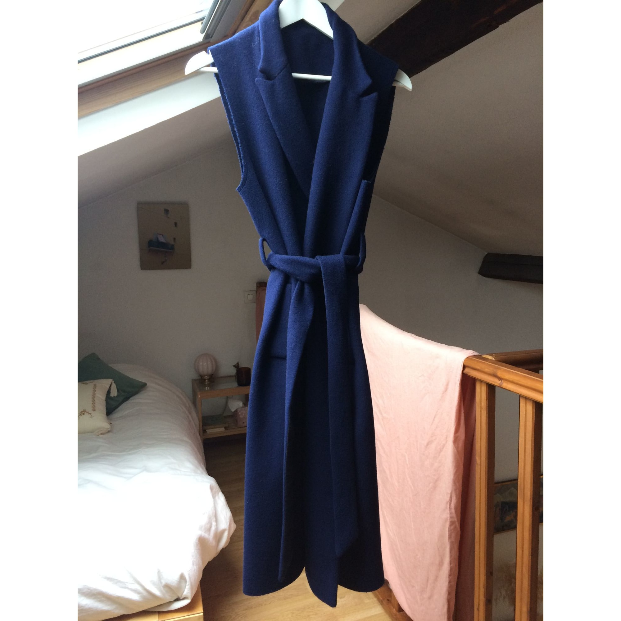 Manteau VINTAGE Bleu, bleu marine, bleu turquoise