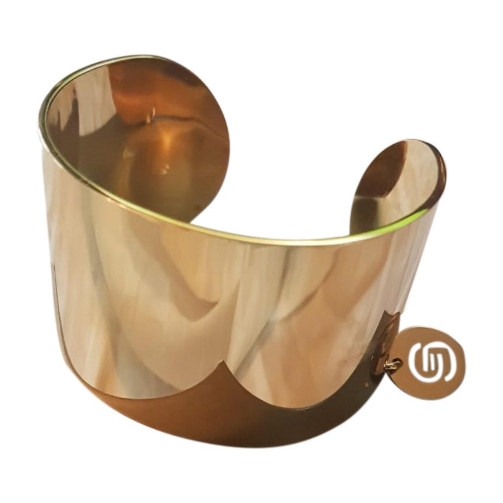 Bracelet ELIE SAAB acier doré