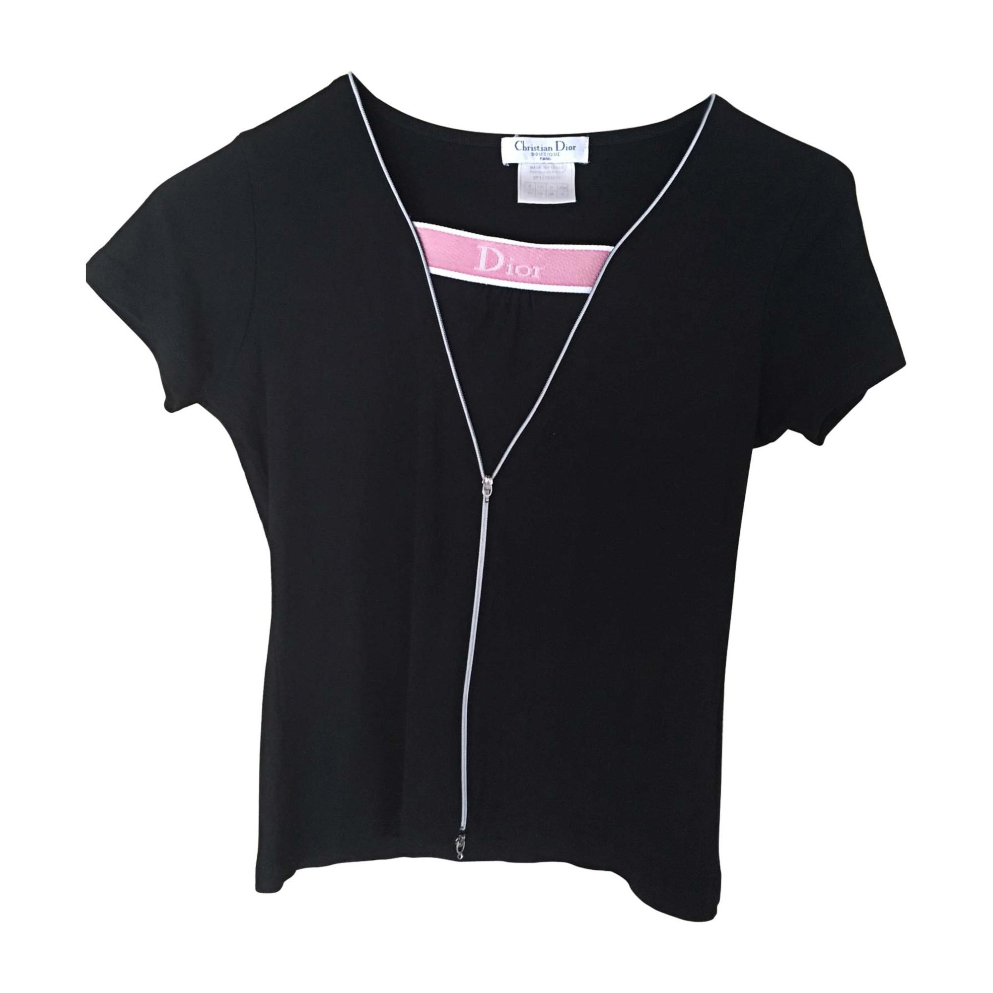 Tops, T-Shirt DIOR Schwarz