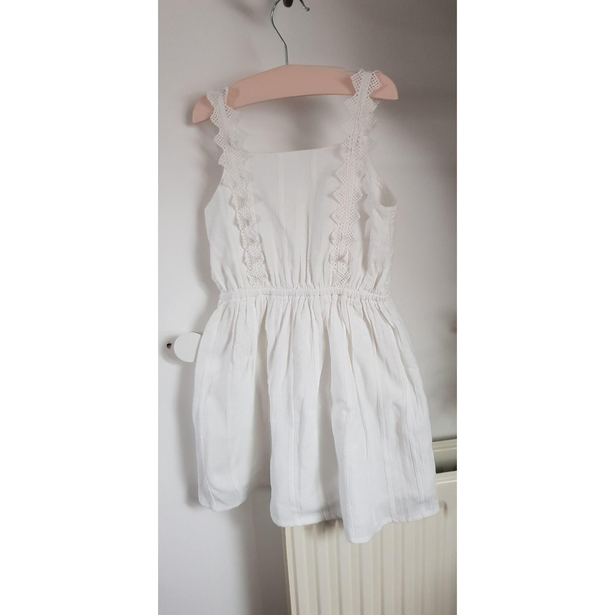 Robe TAPE À L'OEIL Blanc, blanc cassé, écru