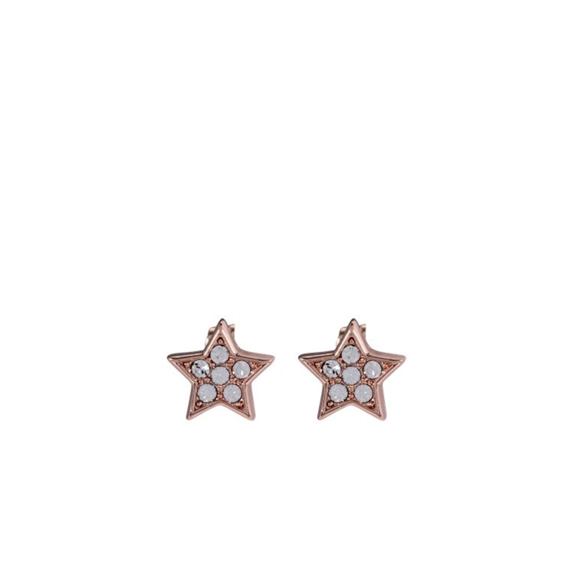 Boucles d'oreille TED BAKER métal doré