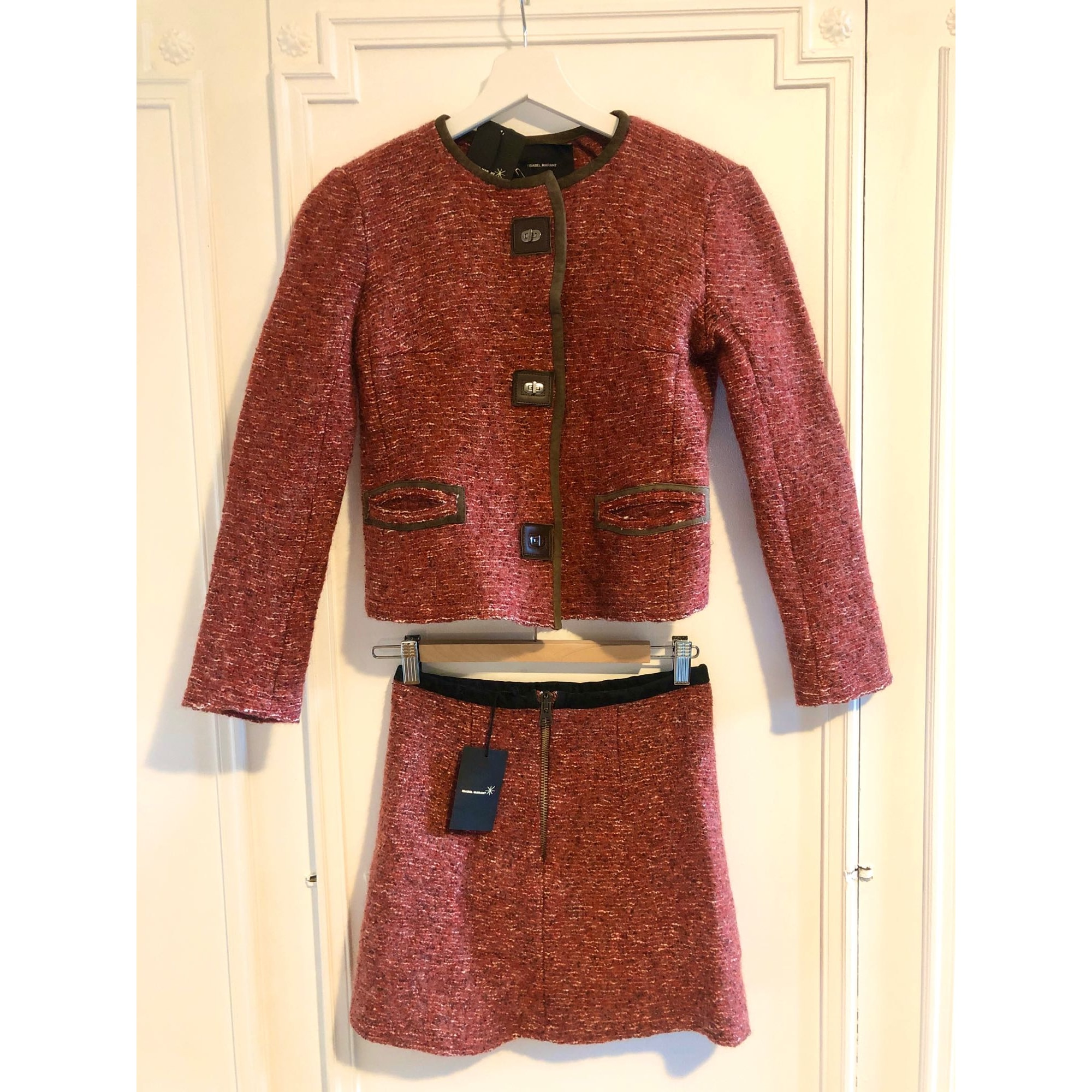 Skirt Suit ISABEL MARANT Red, burgundy