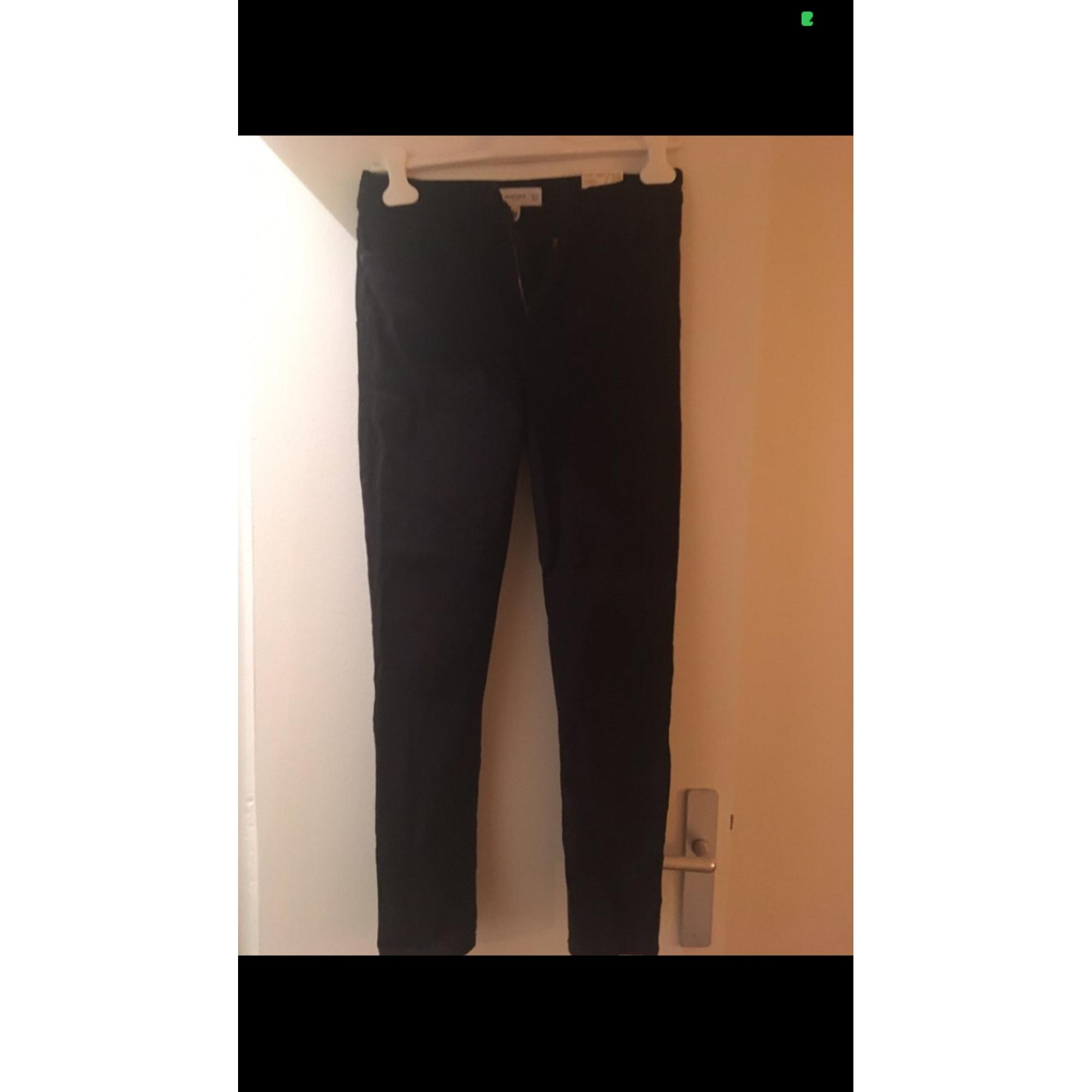 Jeans slim MANGO Noir