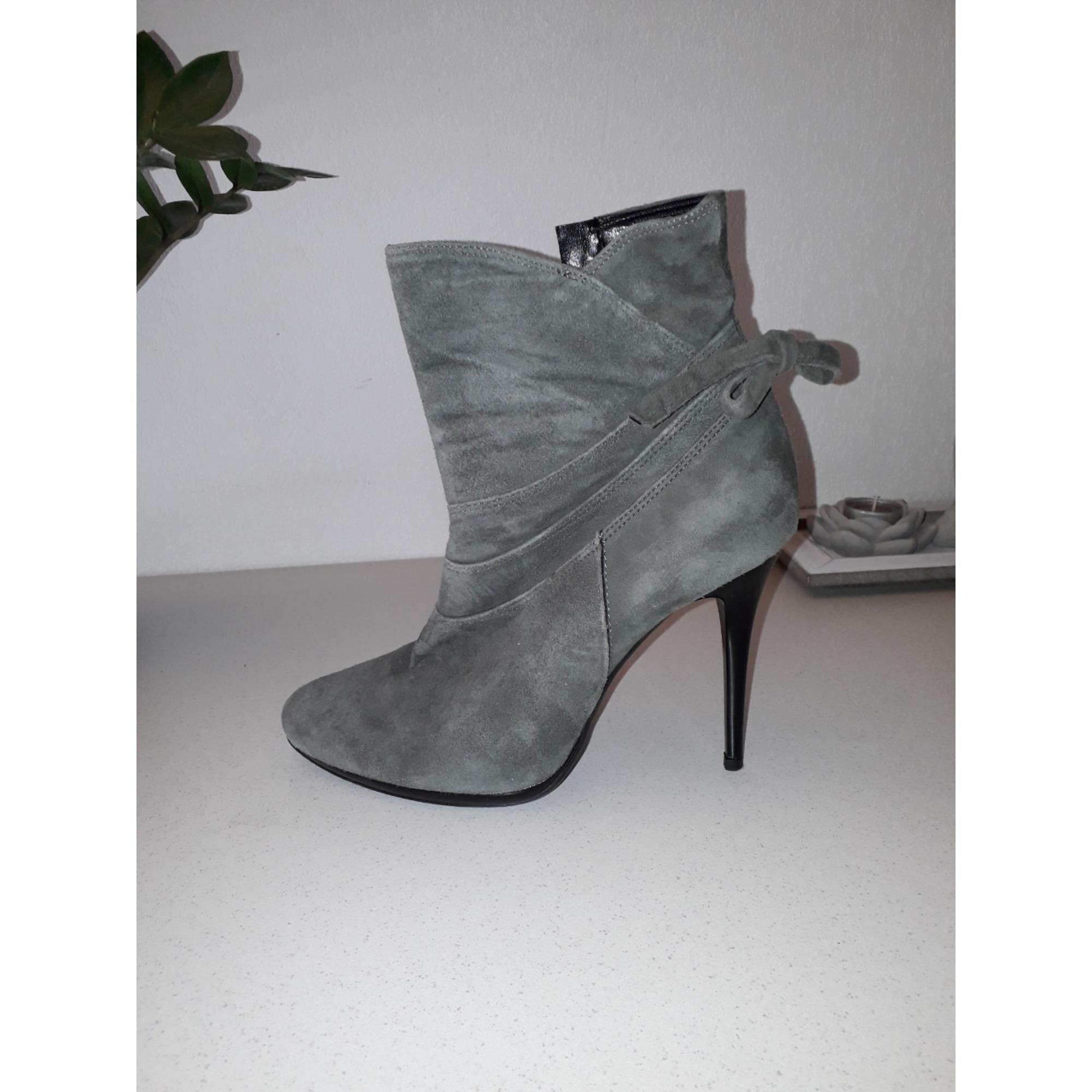 Bottines & low boots à talons SAN MARINA Gris, anthracite