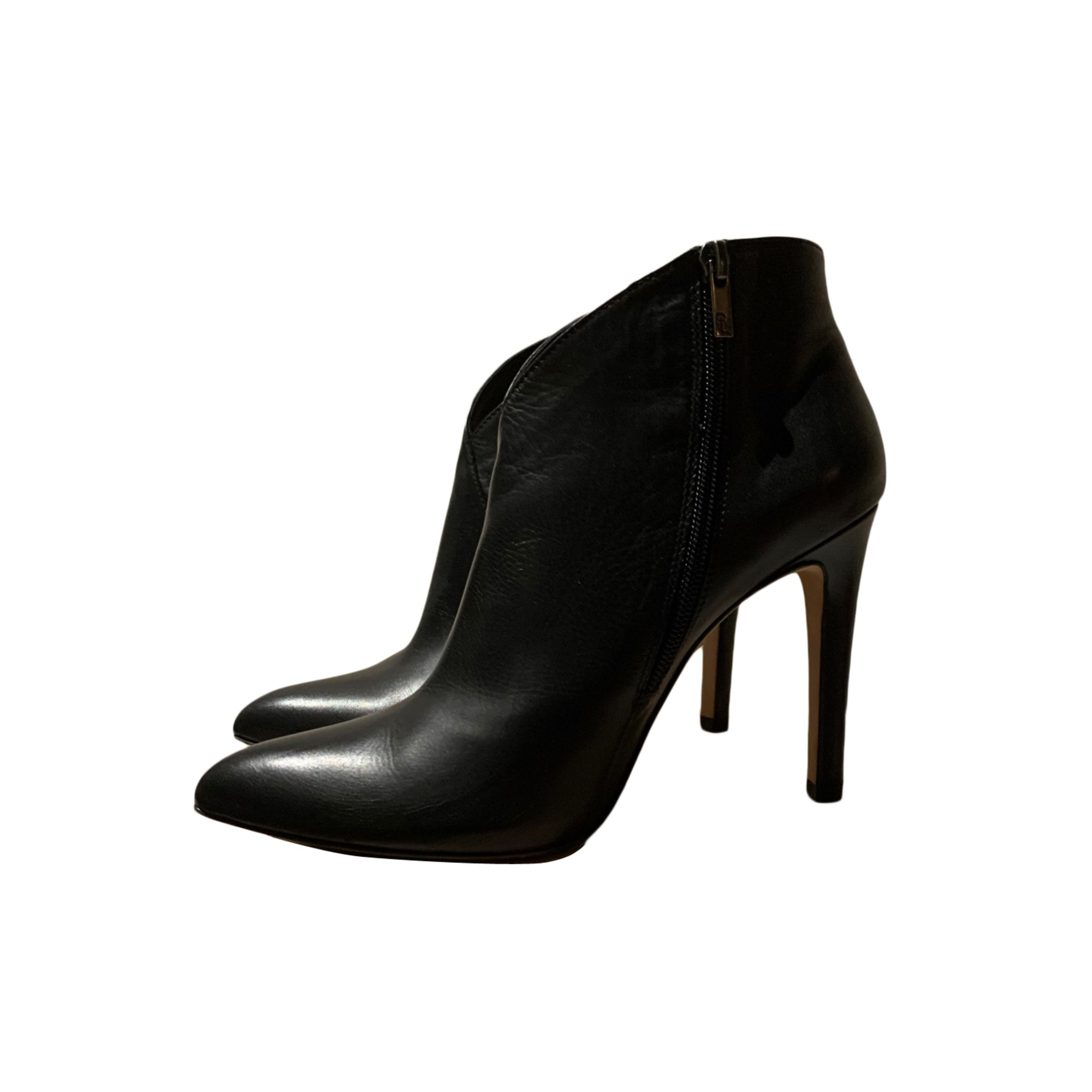 Bottines & low boots à talons PURA LOPEZ Noir