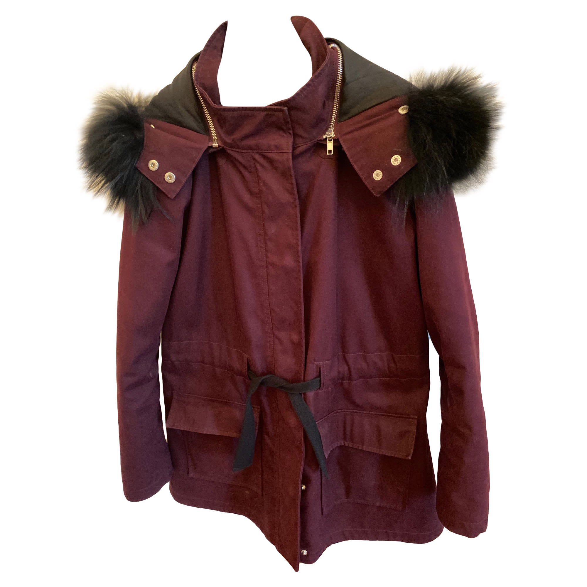 Imperméable, trench CLAUDIE PIERLOT Rouge, bordeaux