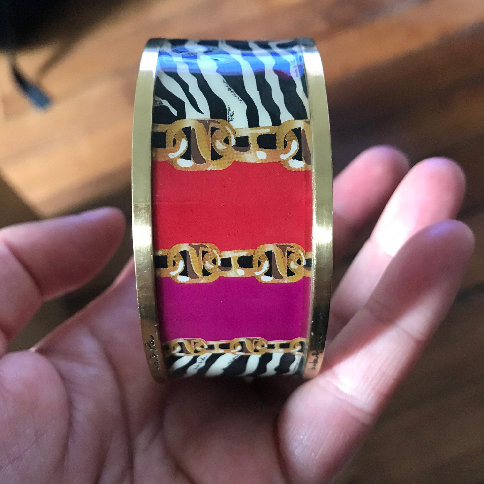 Bracelet BIMBA & LOLA chrome multicolore
