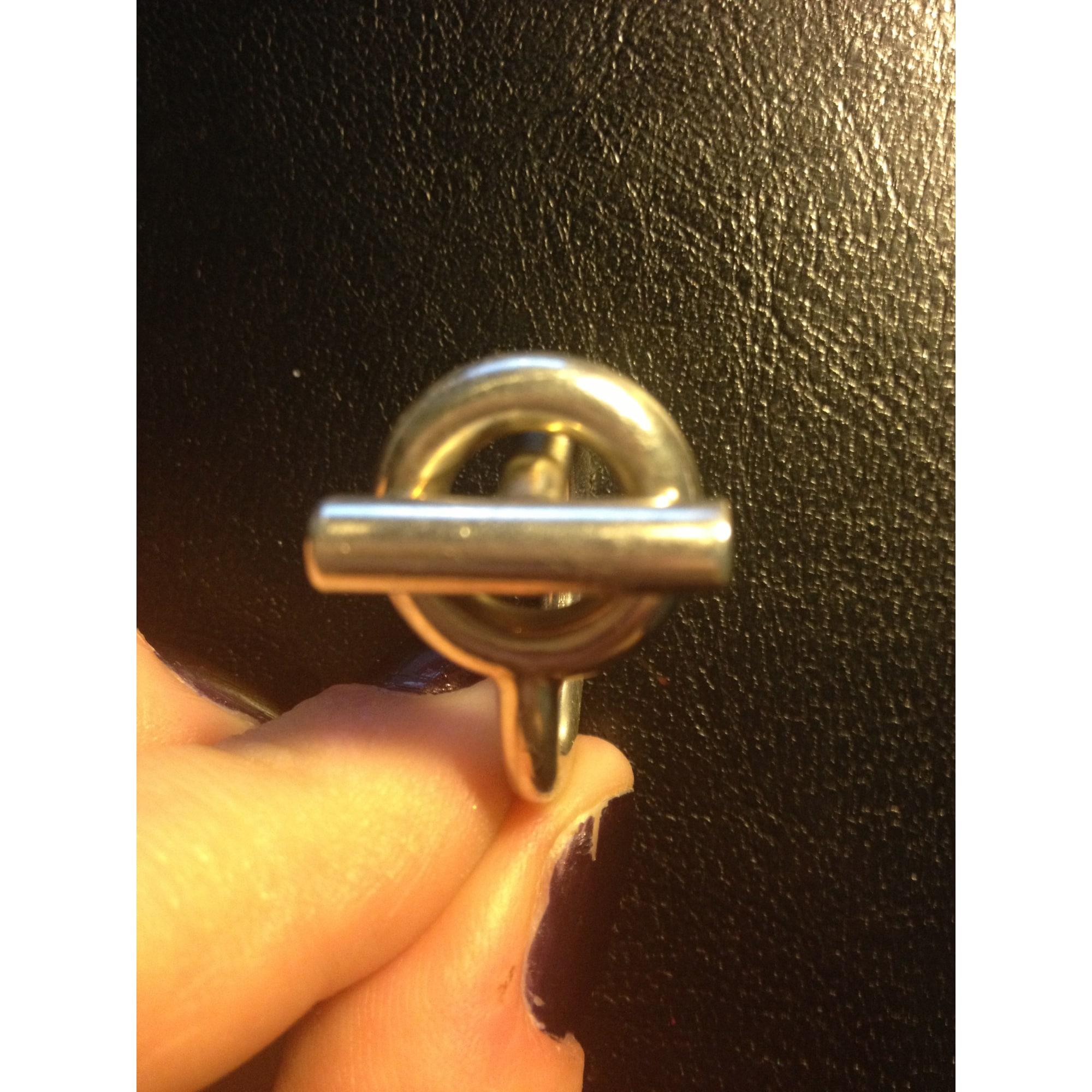9e2b6ac8aa0c Bague HERMÈS 58 argenté vendu par Cha 13854 - 987732
