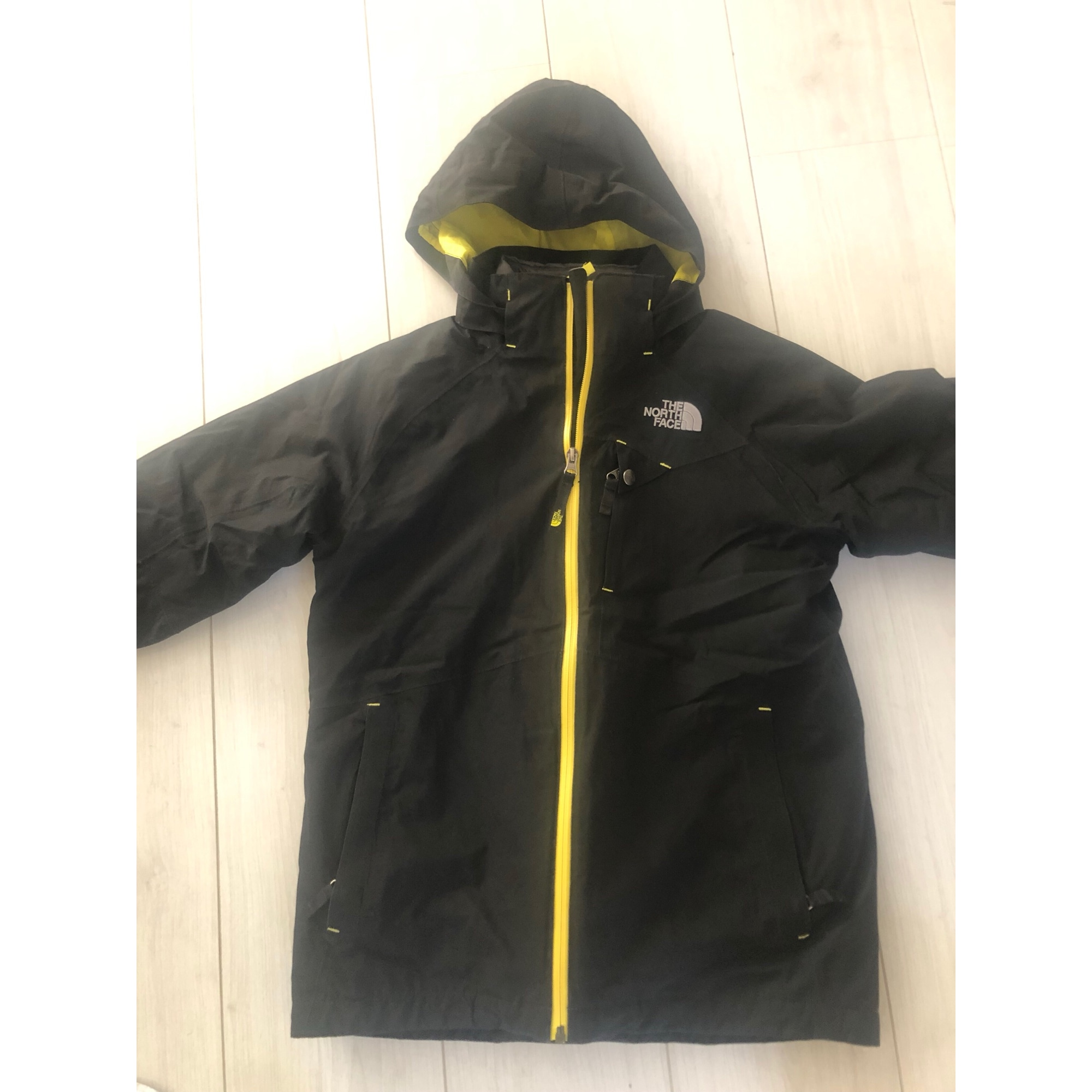 Blouson de ski THE NORTH FACE 15-16 ans noir