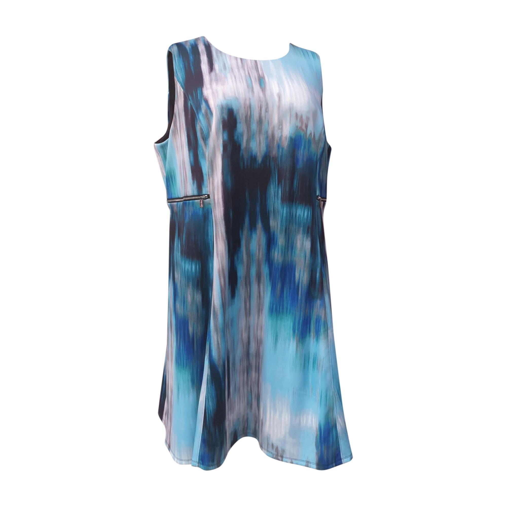 Robe courte CALVIN KLEIN Bleu, bleu marine, bleu turquoise