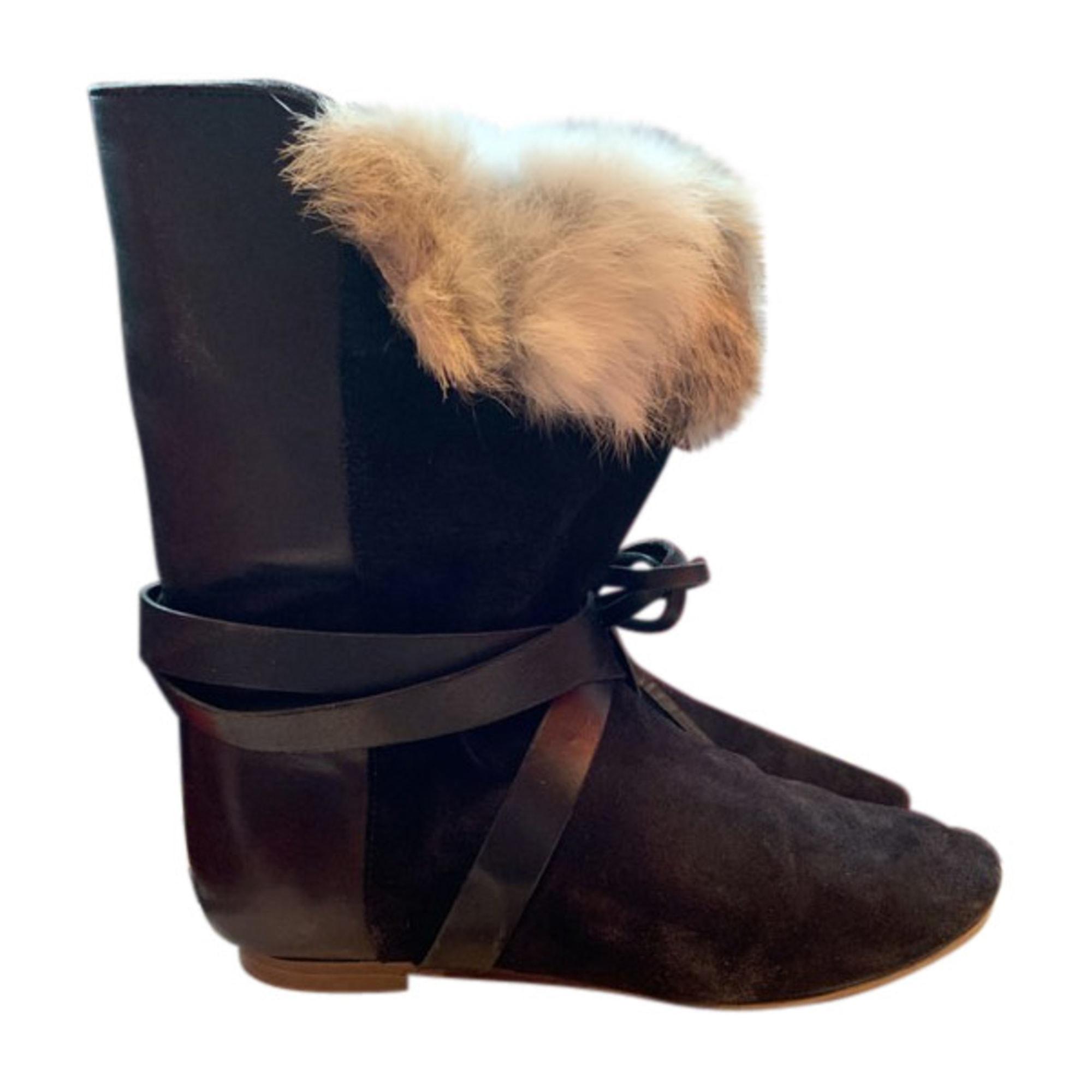 Flat Ankle Boots ISABEL MARANT Black