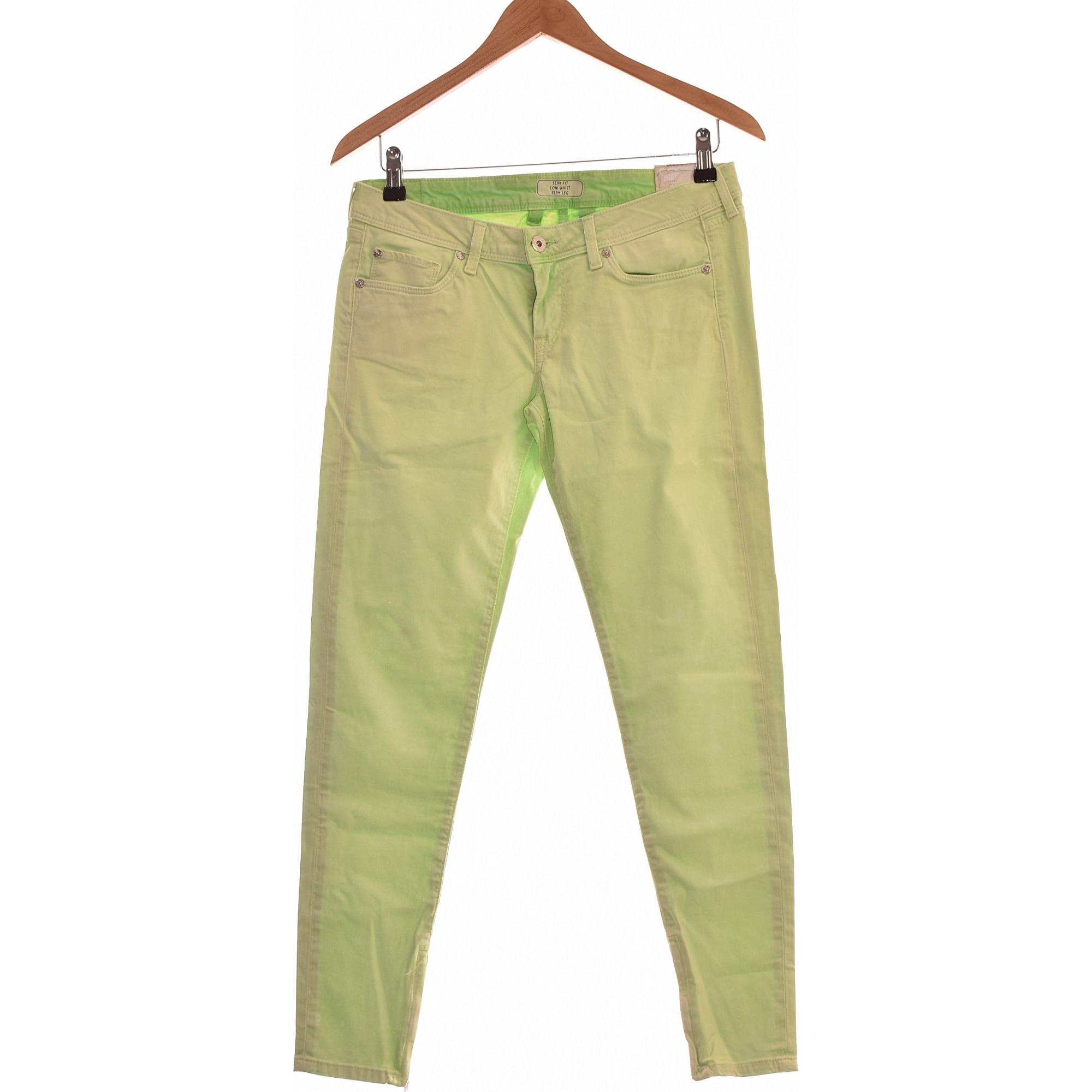 Jeans slim PEPE JEANS Vert
