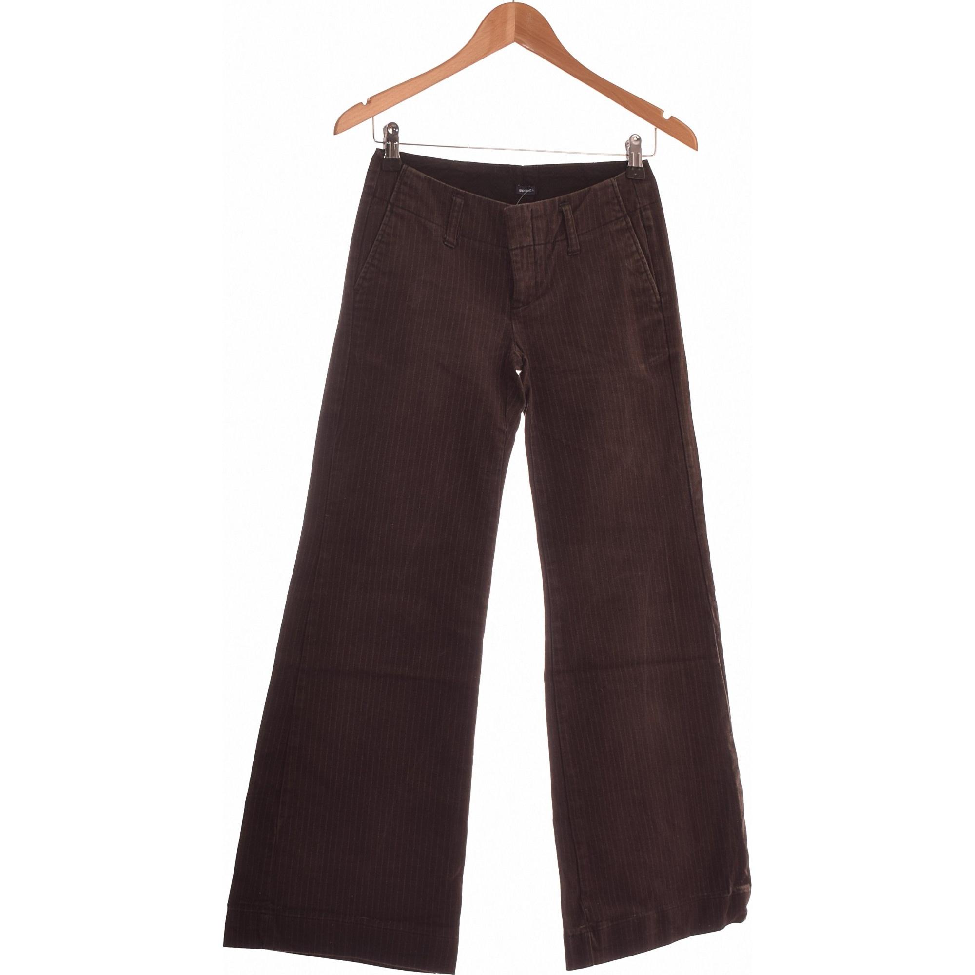 Pantalon évasé GAP Marron