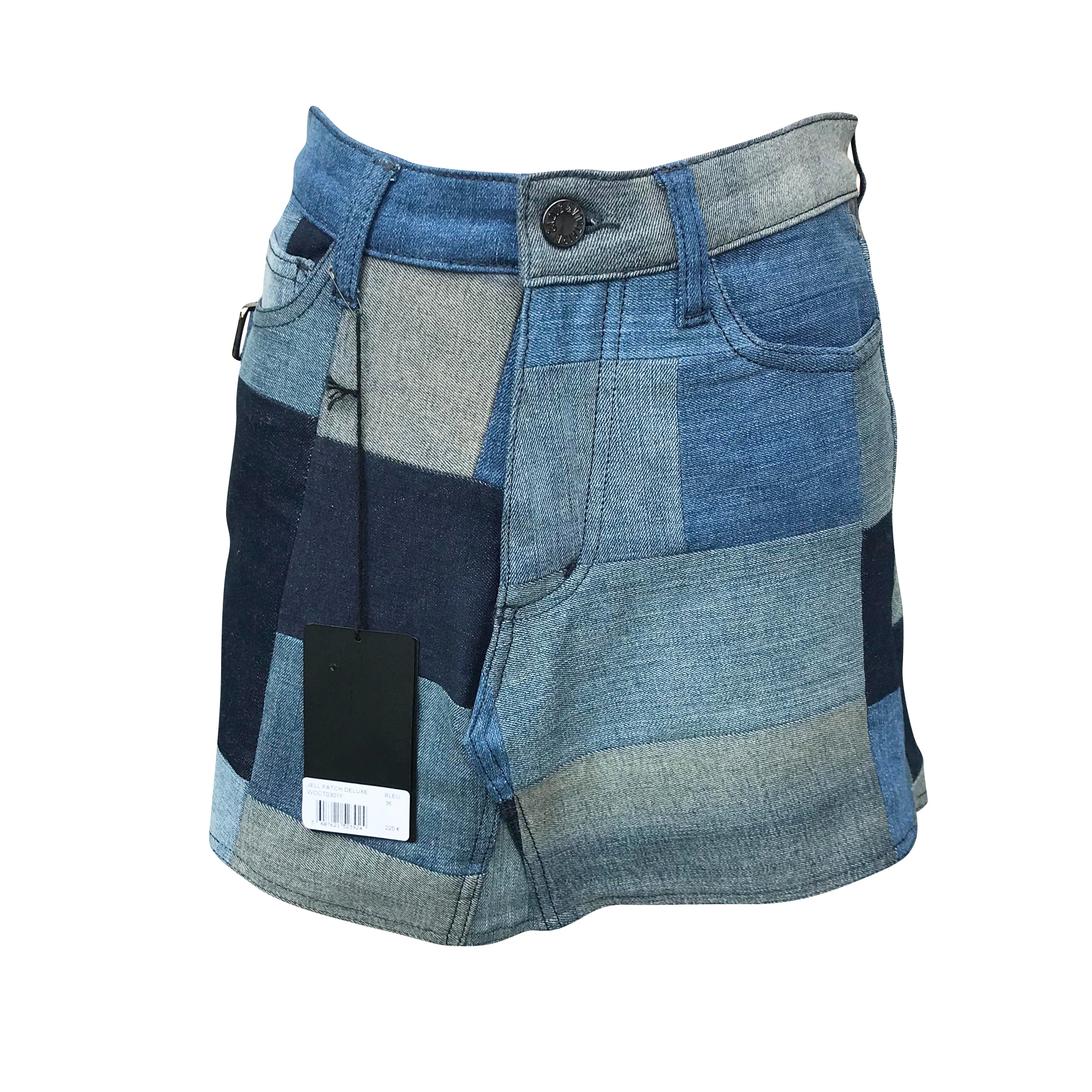 Jupe en jean ZADIG & VOLTAIRE Bleu, bleu marine, bleu turquoise