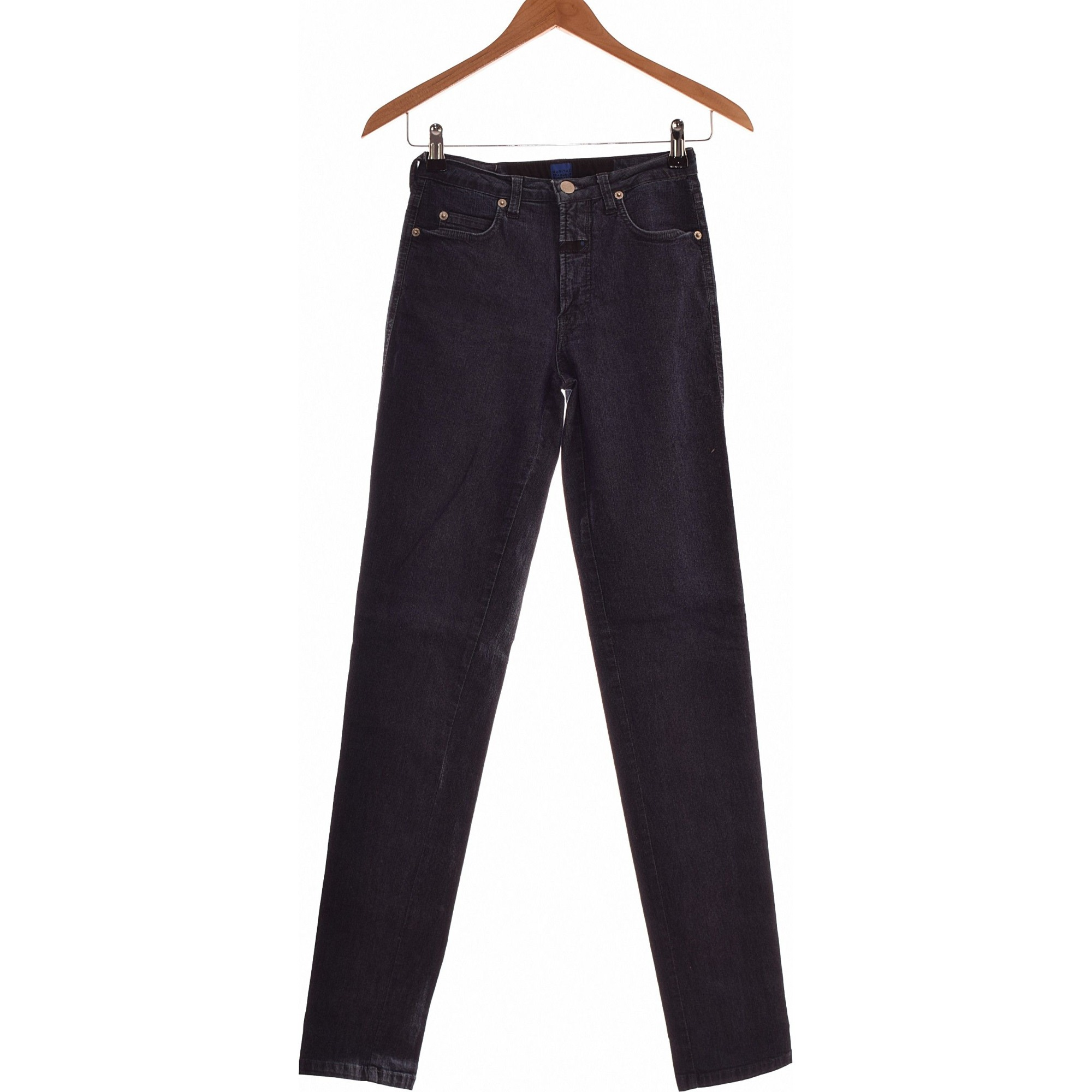Jeans slim MARITHÉ ET FRANÇOIS GIRBAUD Blu, blu navy, turchese