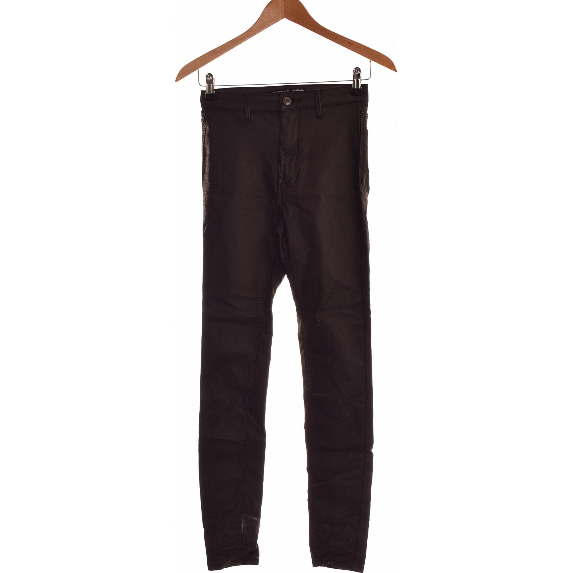 Jeans slim STRADIVARIUS Noir