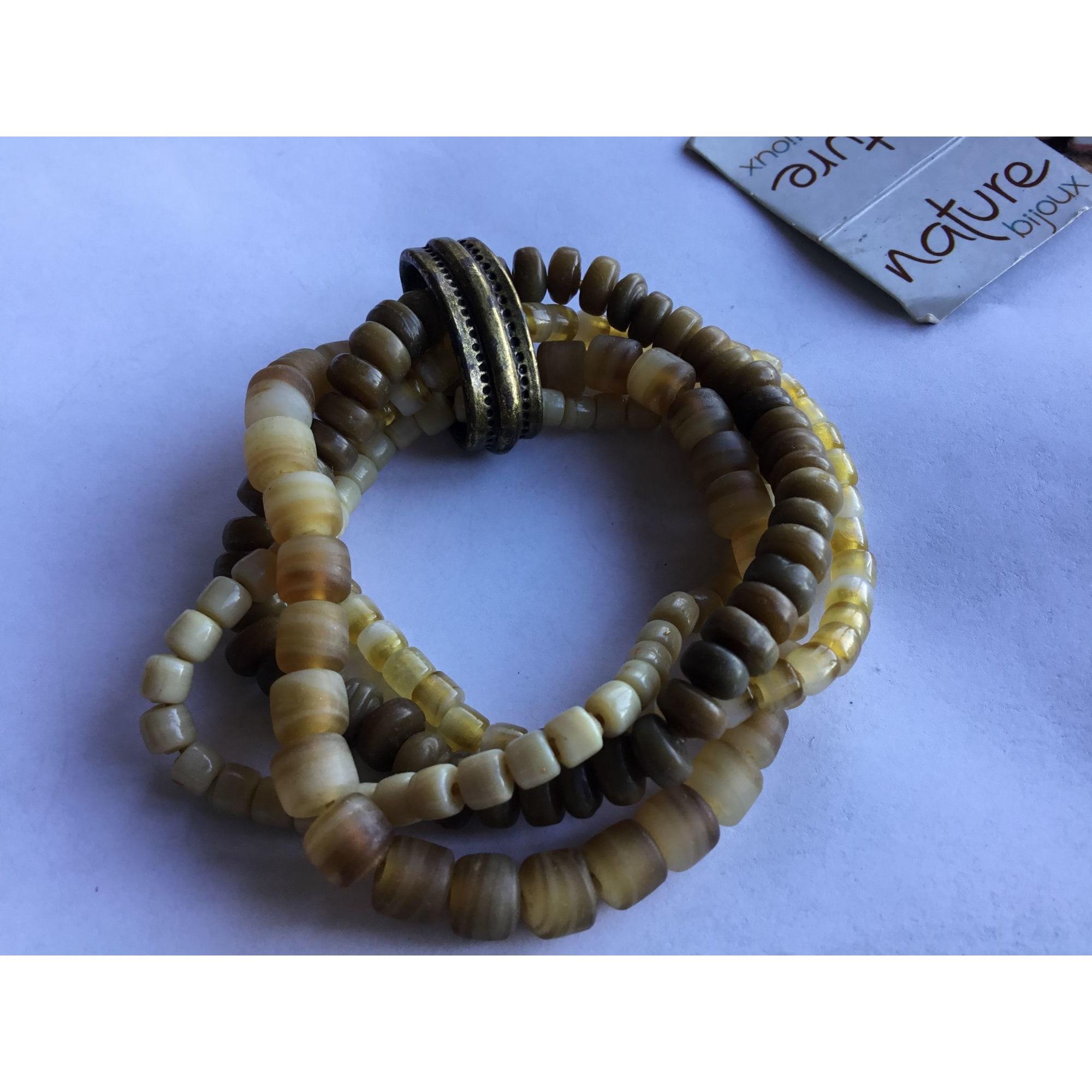 Bracelet NATURE BIJOUX pierres blanc