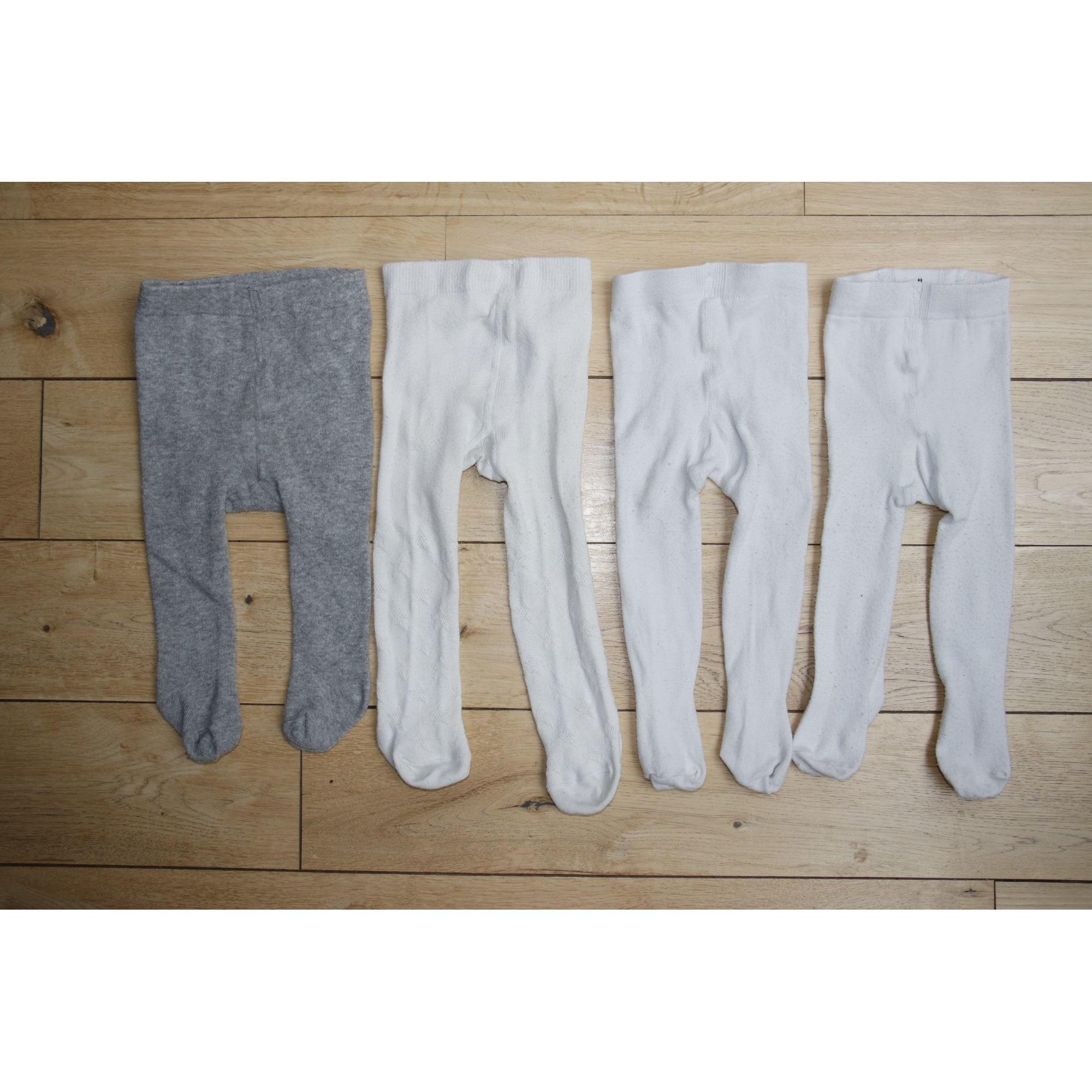 Collant KIABI Bianco, bianco sporco, ecru