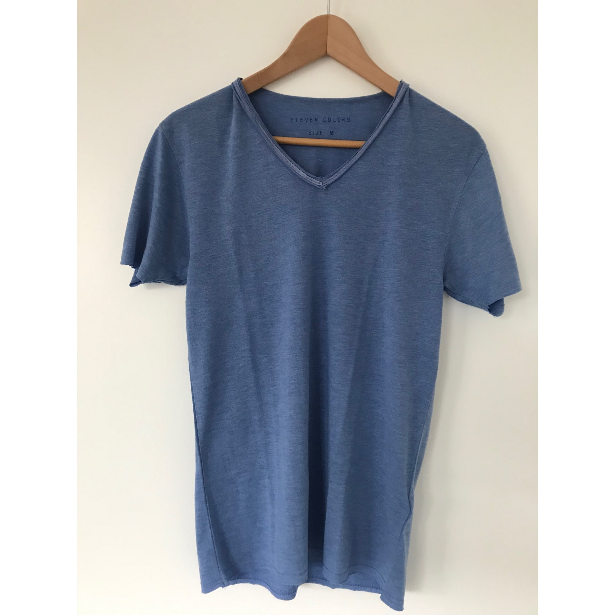 Tee-shirt ELEVEN PARIS Bleu, bleu marine, bleu turquoise