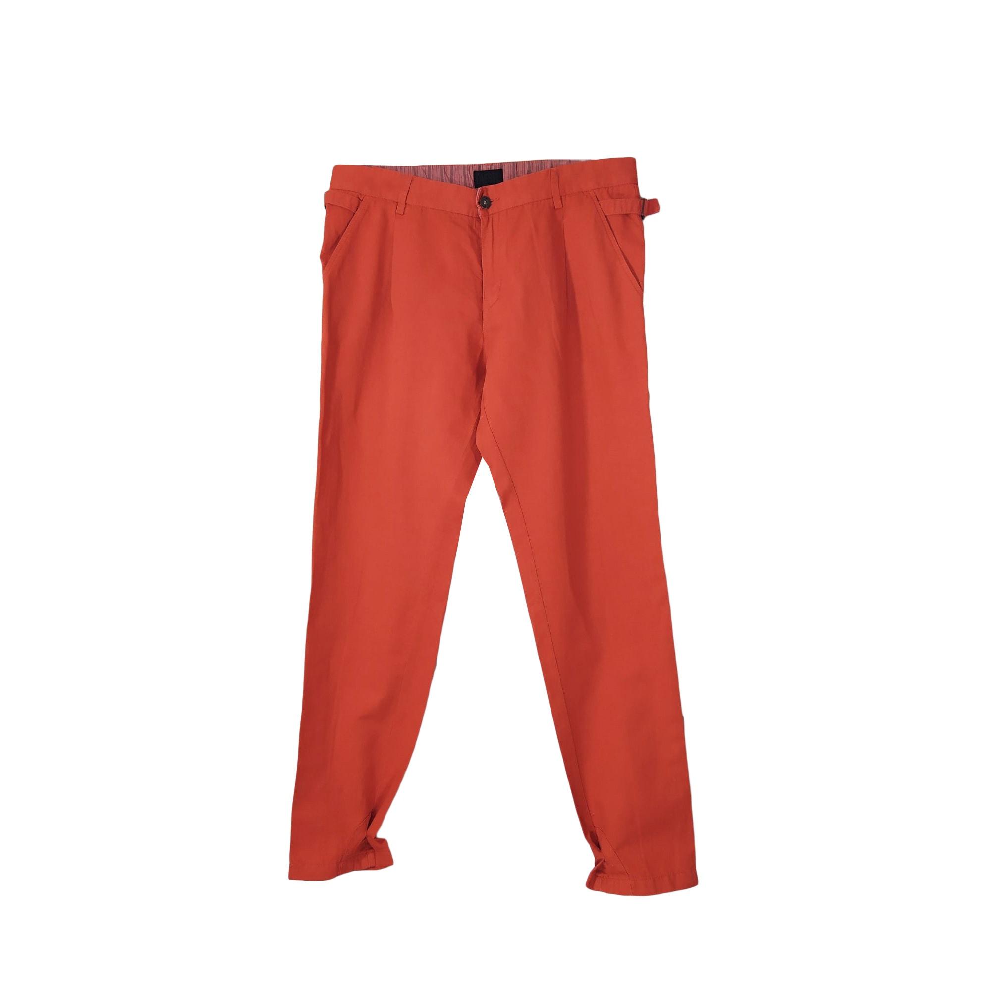 Pantalon droit DIESEL Orange
