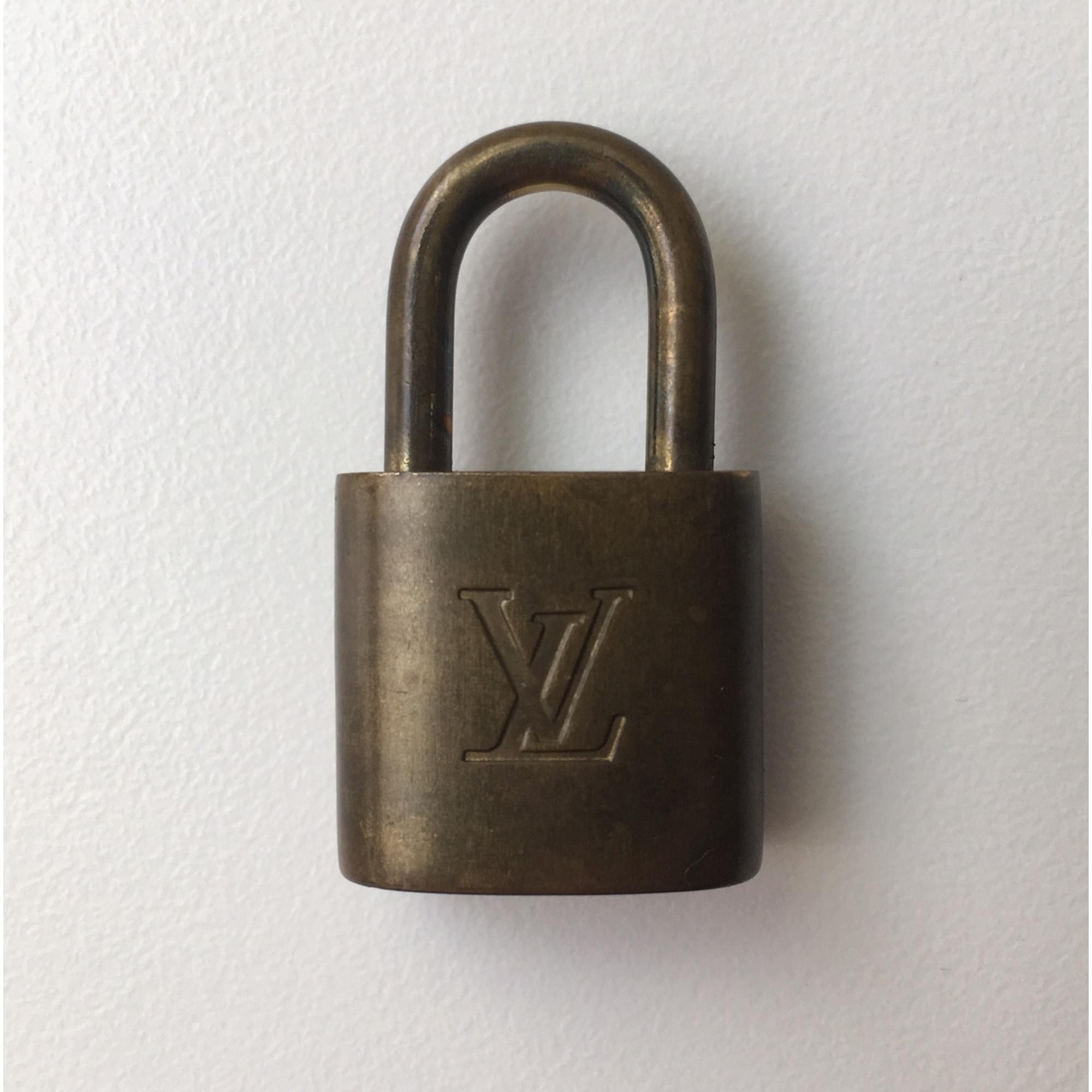 Pendentif, collier pendentif LOUIS VUITTON - doré
