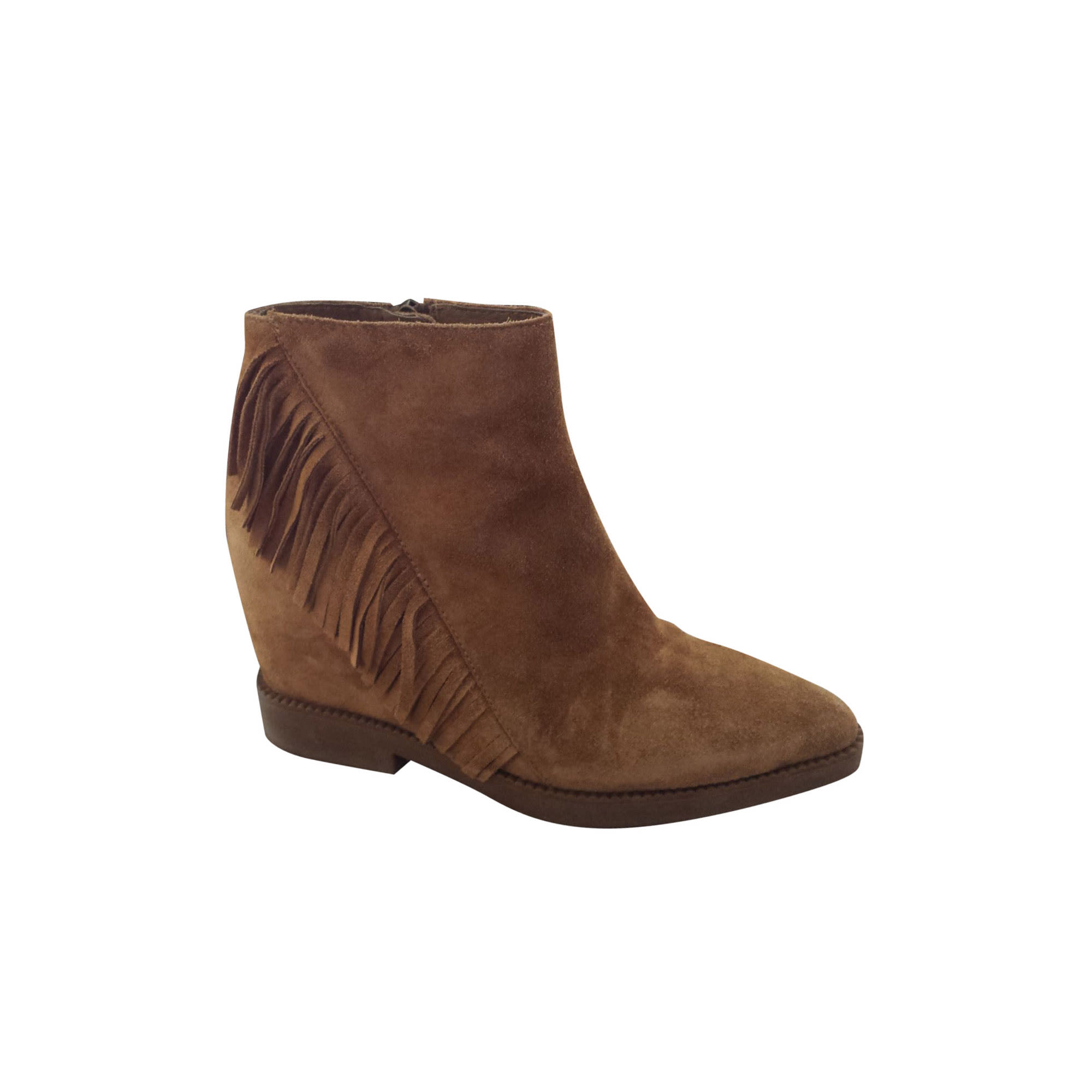 Bottines & low boots à talons ASH Beige, camel